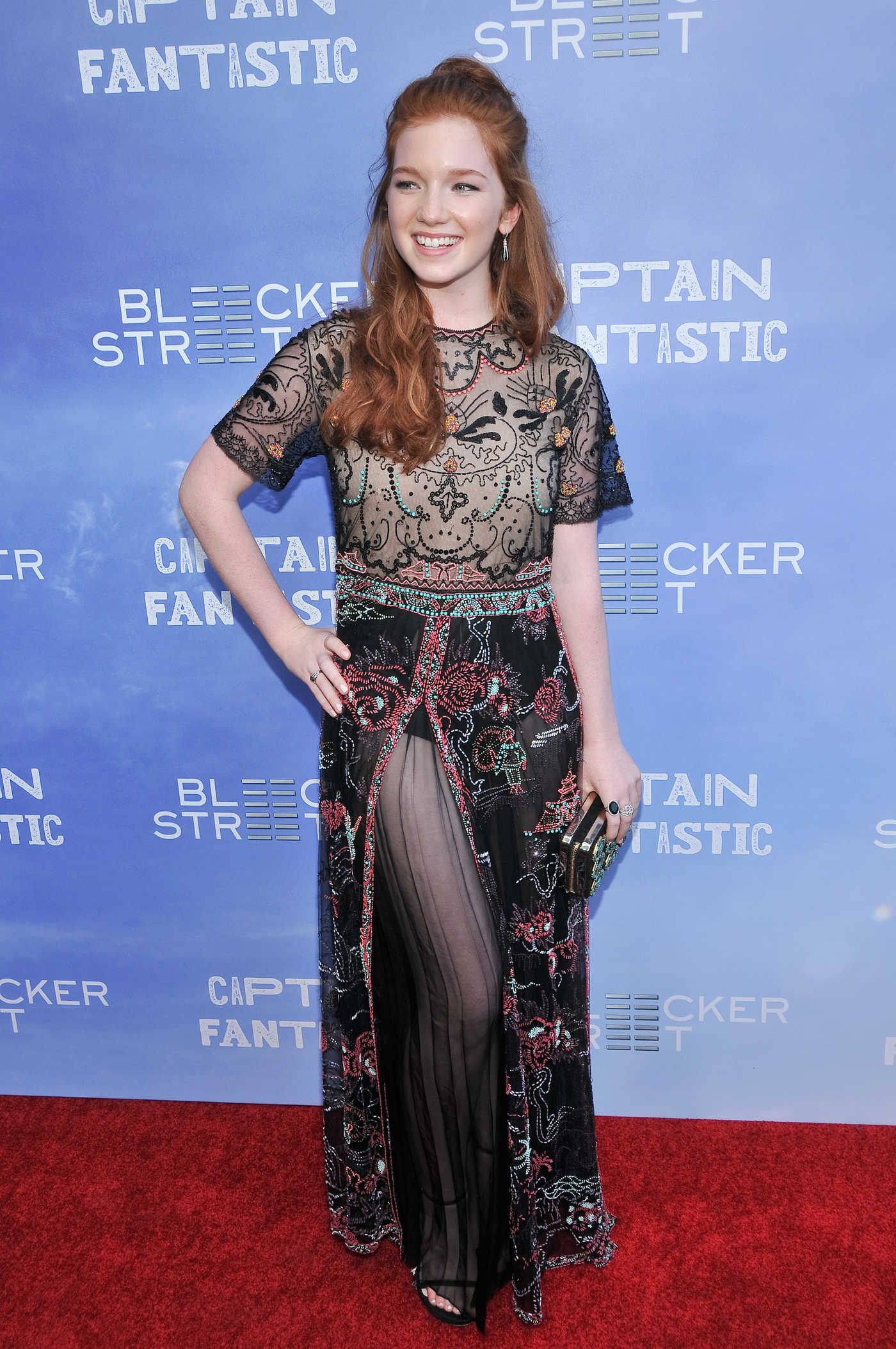 Annalise Basso at the Captain Fantastic Premiere in Los Angeles 06/28/2016