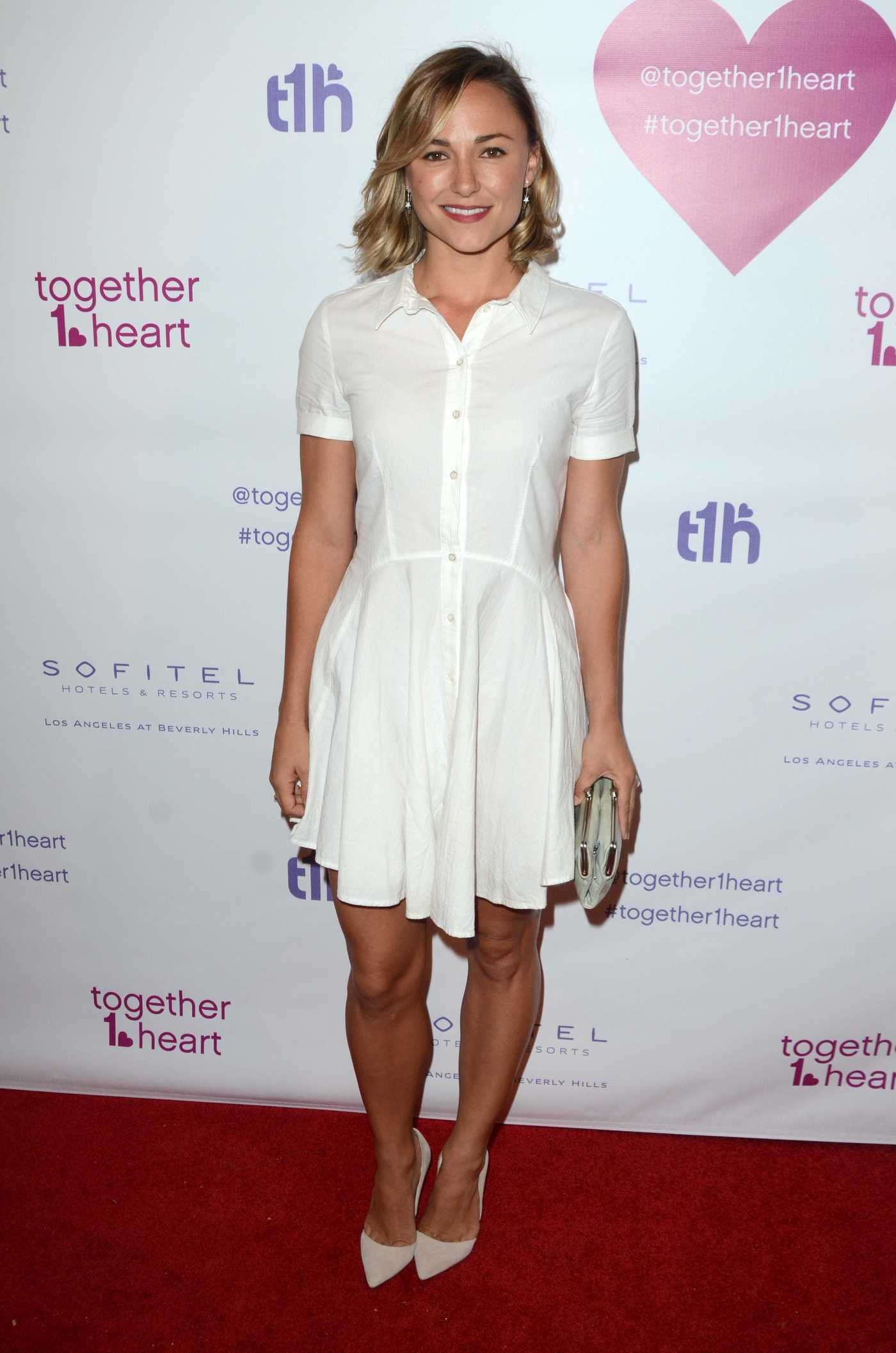 Briana Evigan at the Together1Heart Launch at Sofitel Hotel in Beverly Hills 06/25/2016