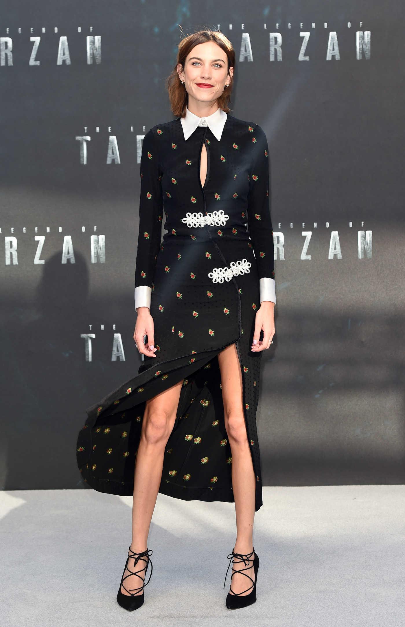 Alexa Chung at The Legend Of Tarzan European Premiere in London 07/05/2016