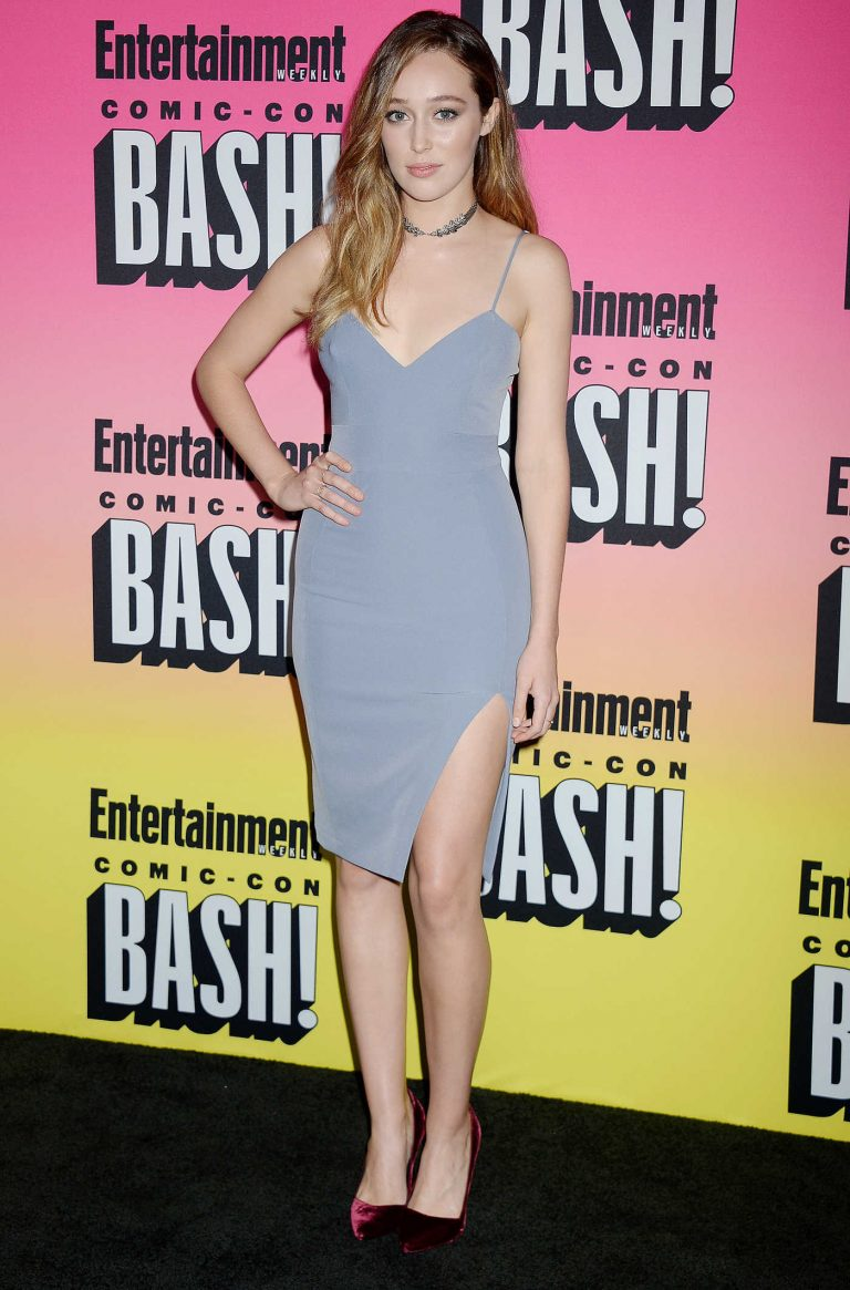 Alycia Debnam Carey at Entertainment Weekly Annual Comic-Con Party at Hard Rock Hotel in San Diego 07/23/2016-1