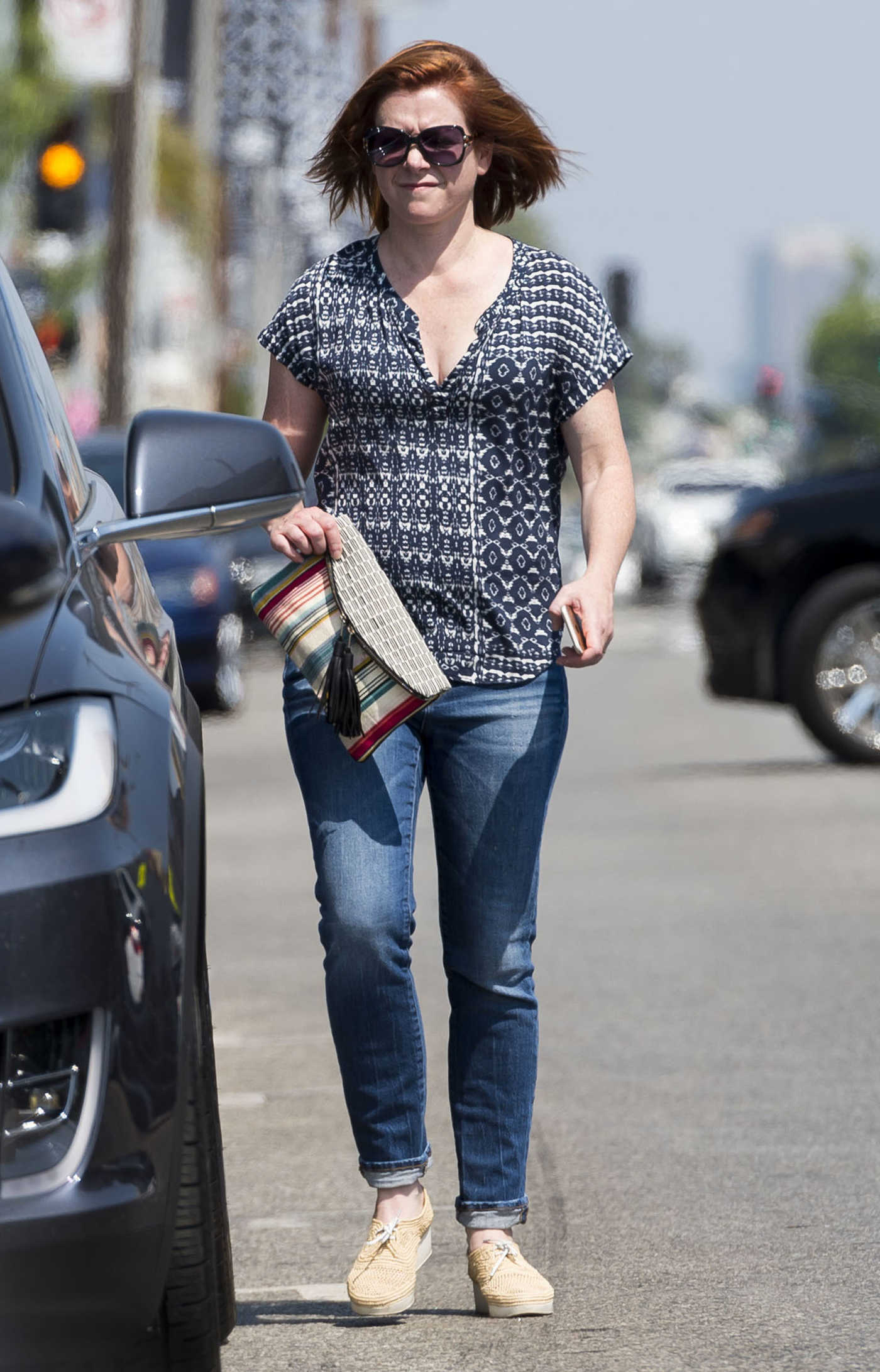 Alyson Hannigan Was Spotted Out in Los Angeles 07/29/2016