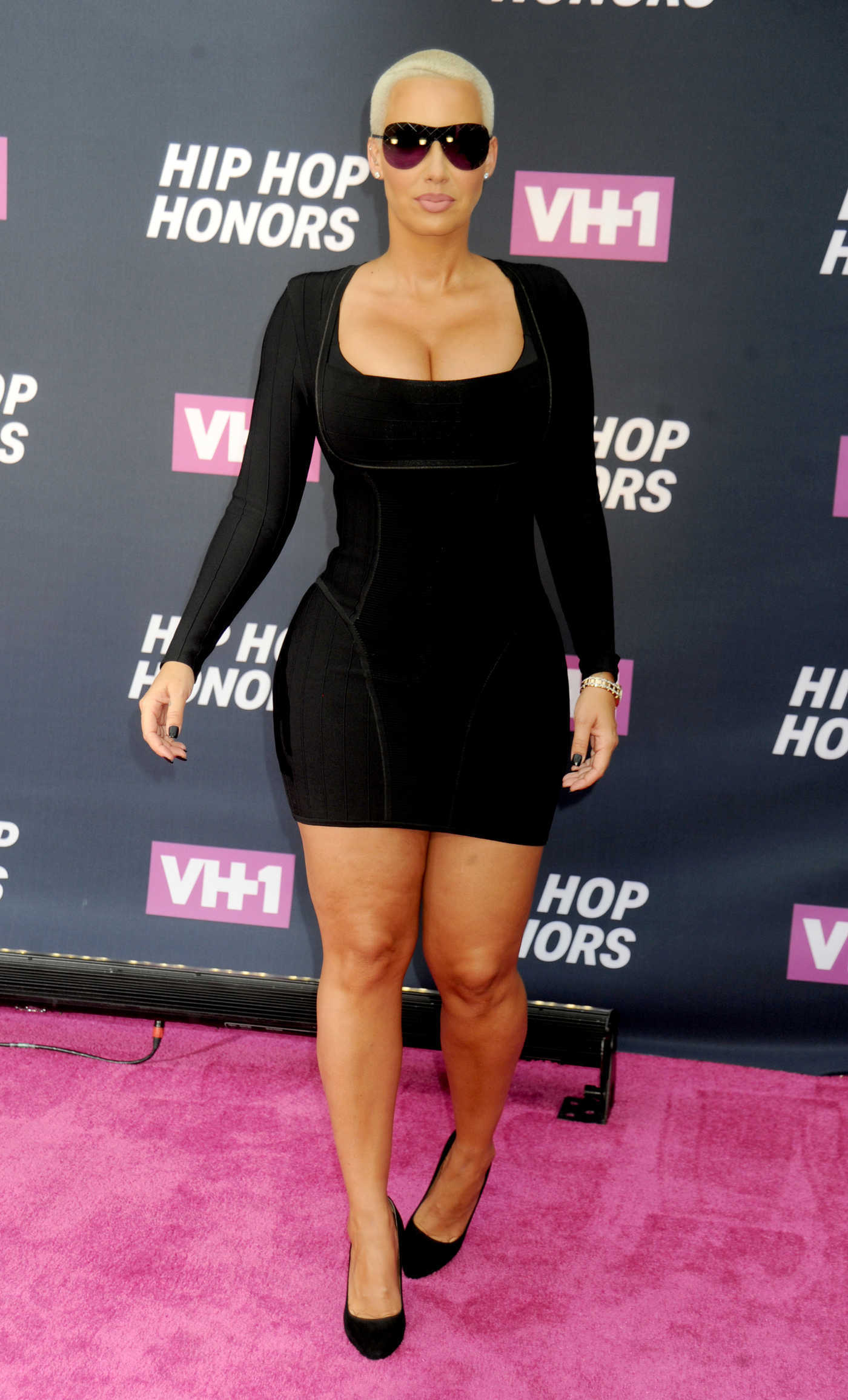 Amber Rose at the VH1 Hip Hop Honors in New York City 07/11/2016