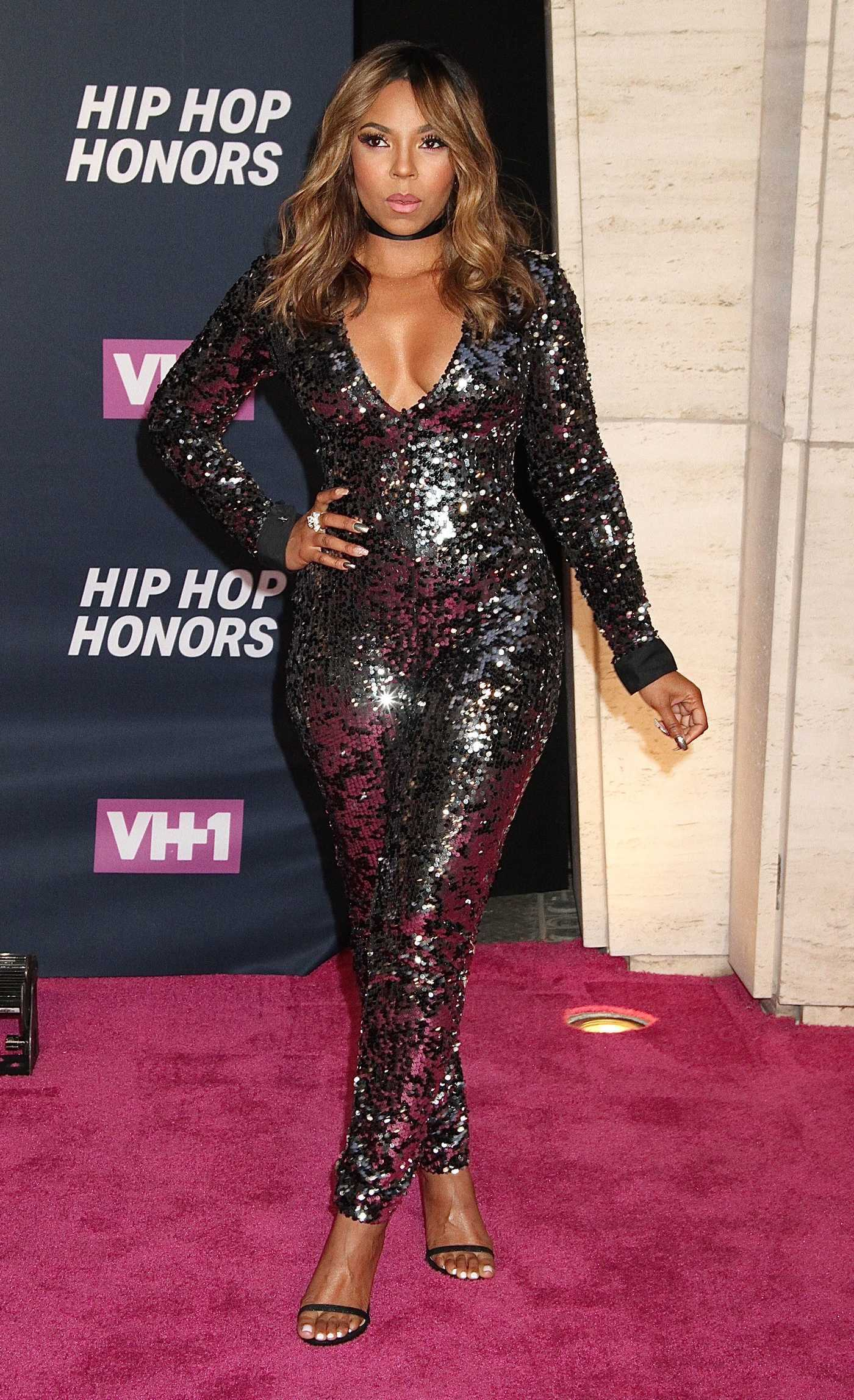 Ashanti at the VH1 Hip Hop Honors in New York City 07/11/2016