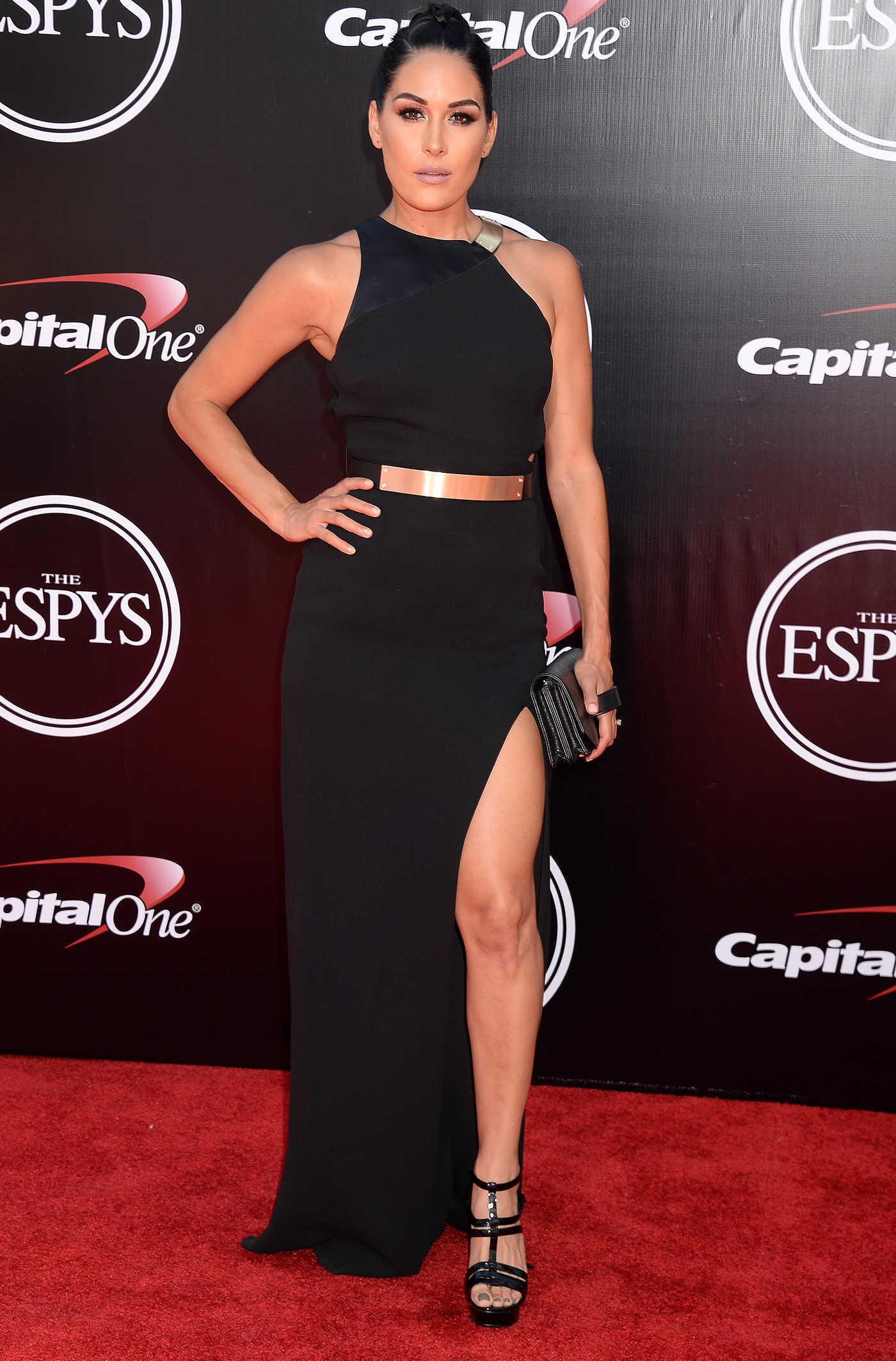 Brie Bella at ESPY Awards in Los Angeles 07/13/2016