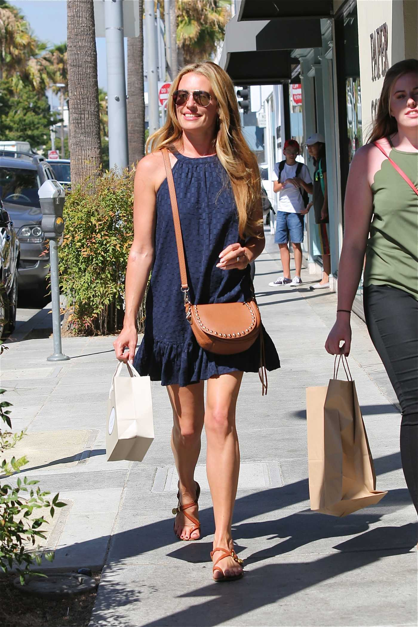 Cat Deeley at E Baldi in Beverly Hills 07/19/2016
