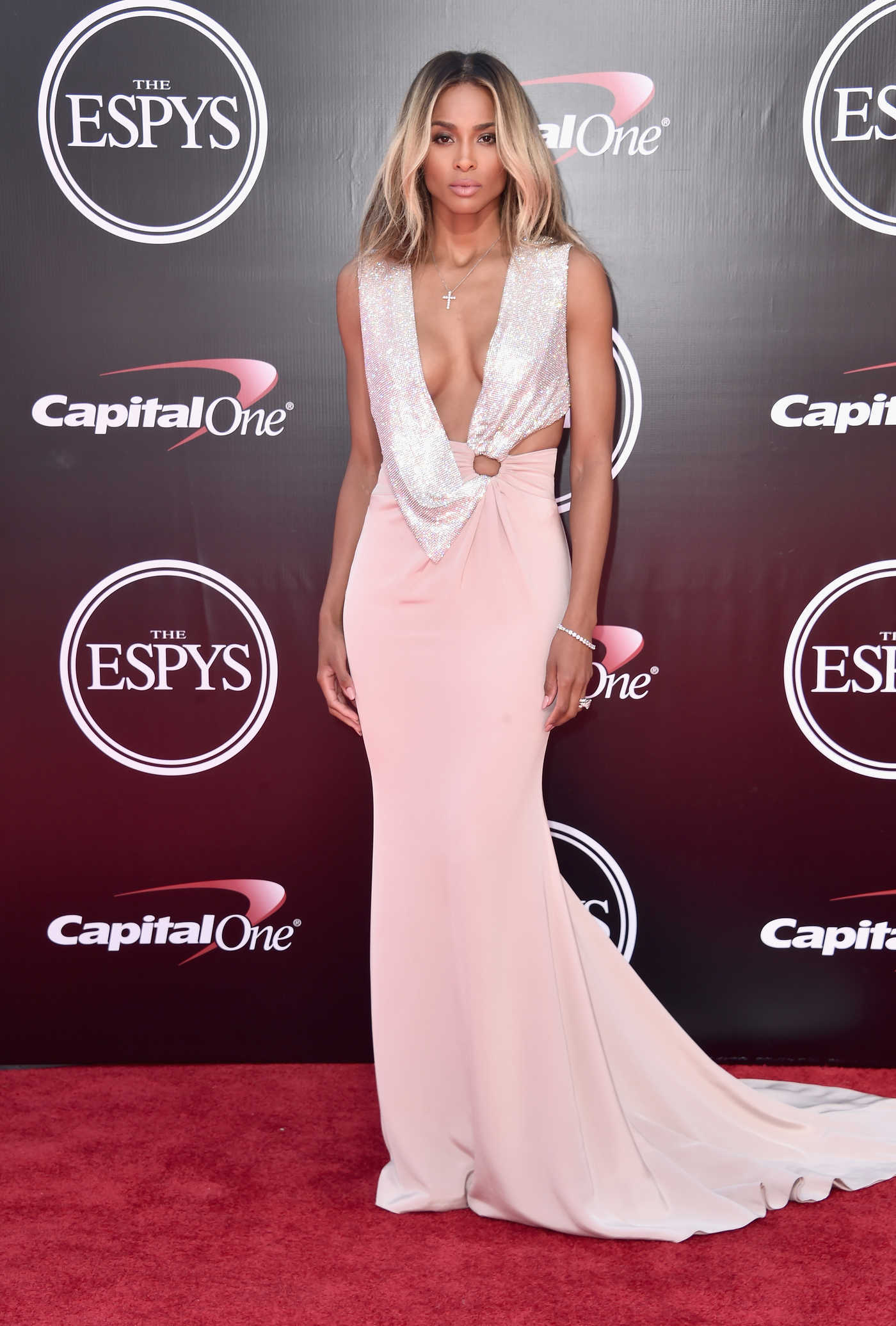 Ciara at ESPY Awards in Los Angeles 07/13/2016