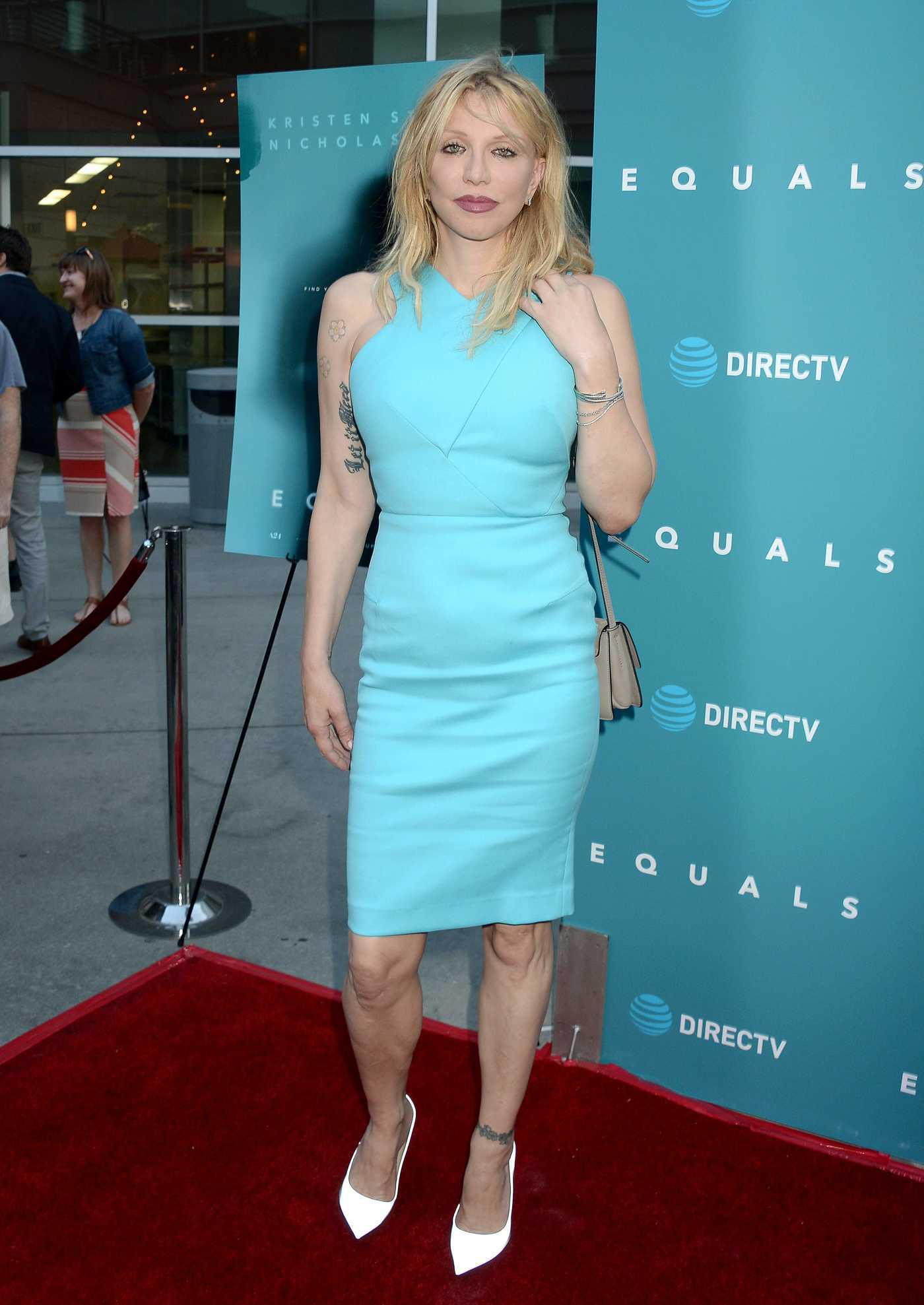 Courtney Love at Equals Premiere in Hollywood 07/07/2016