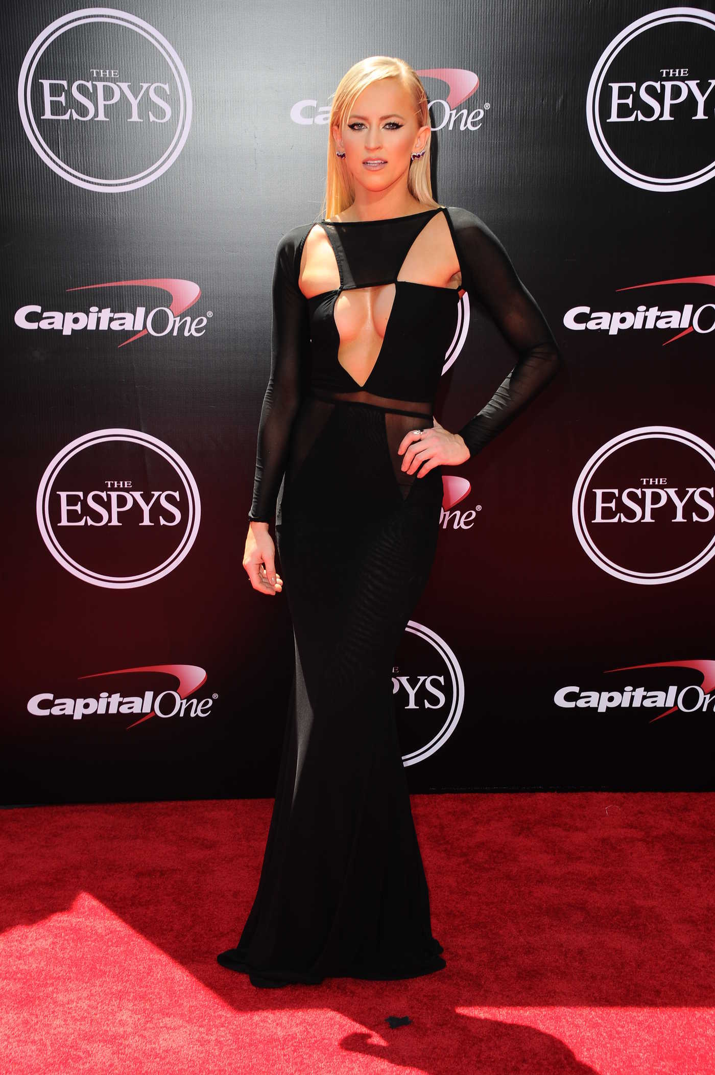 Danielle Moinet at ESPY Awards in Los Angeles 07/13/2016