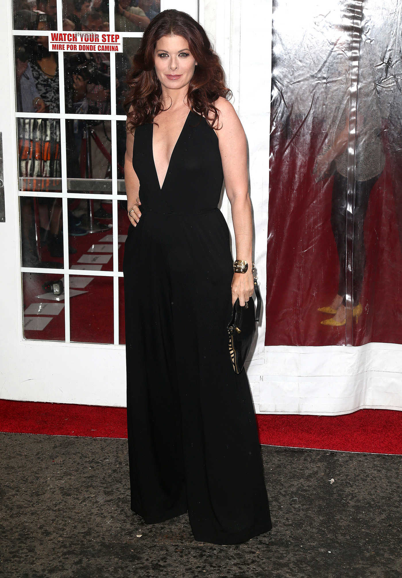 Debra Messing at the Cafe Society Premiere in New York City 07/13/2016