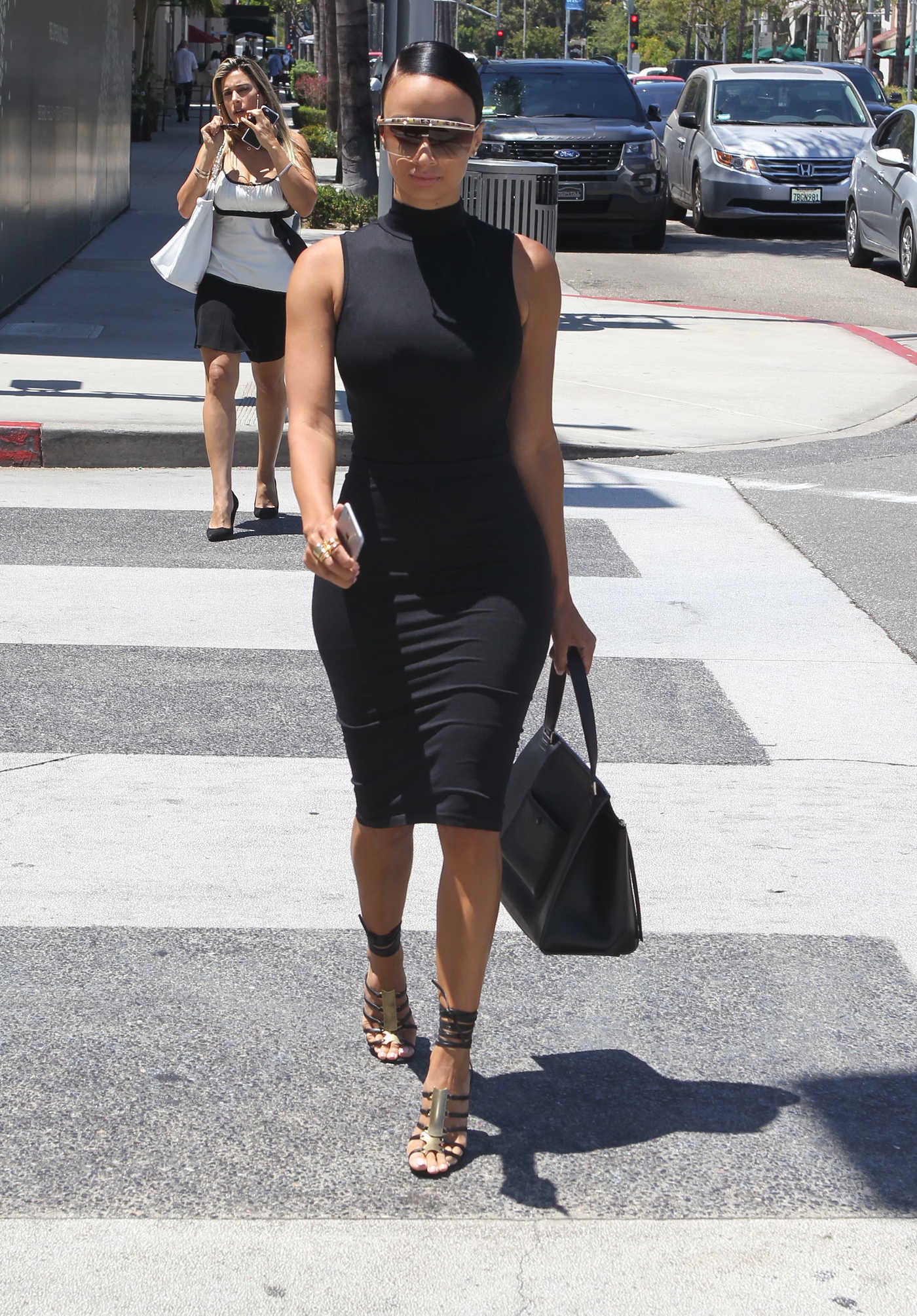 Draya Michele Goes Shopping in Beverly Hills 07/19/2016