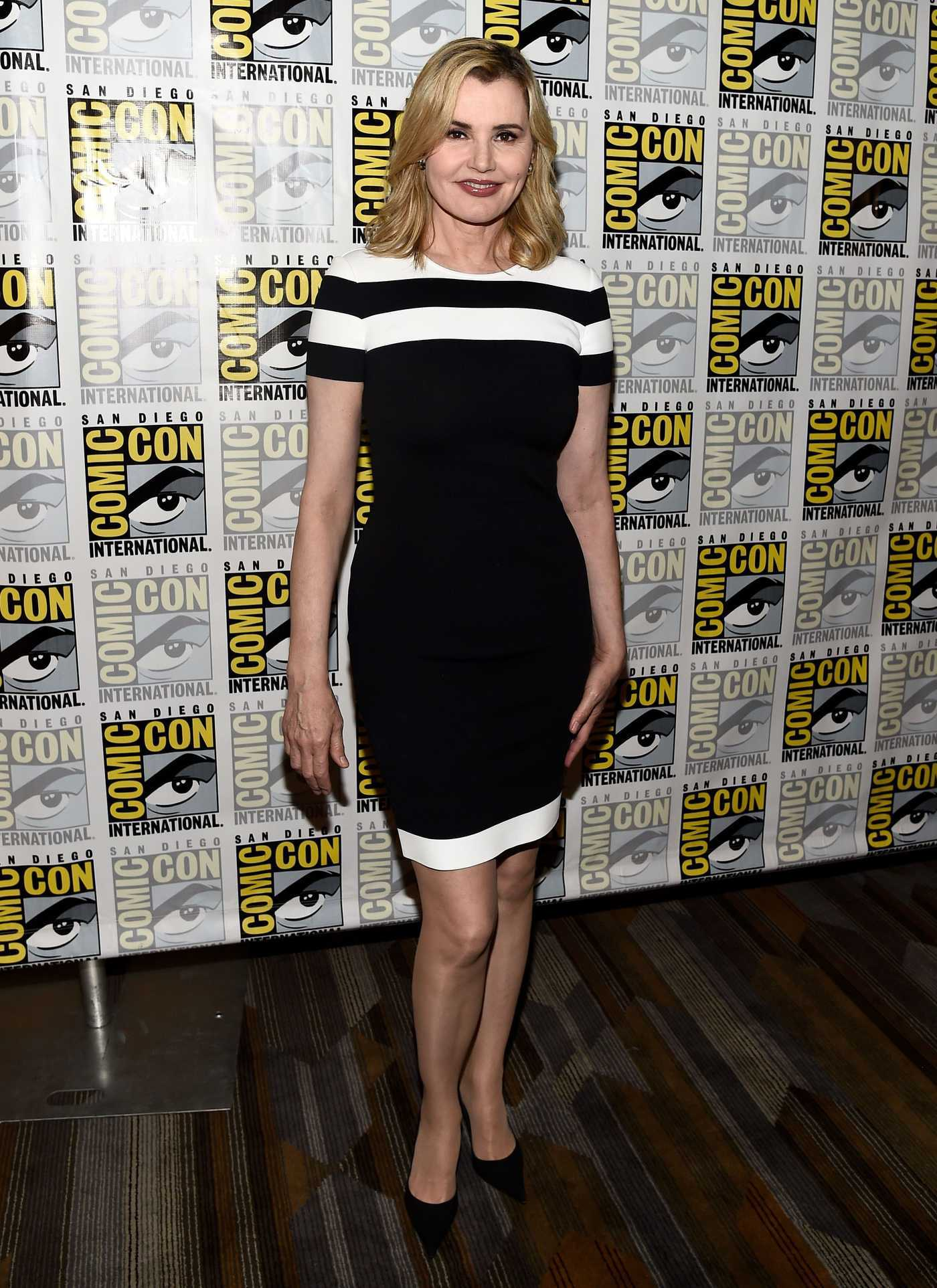 Geena Davis at The Exorcist Press Line at Comic-Con International in San Diego 07/22/2016