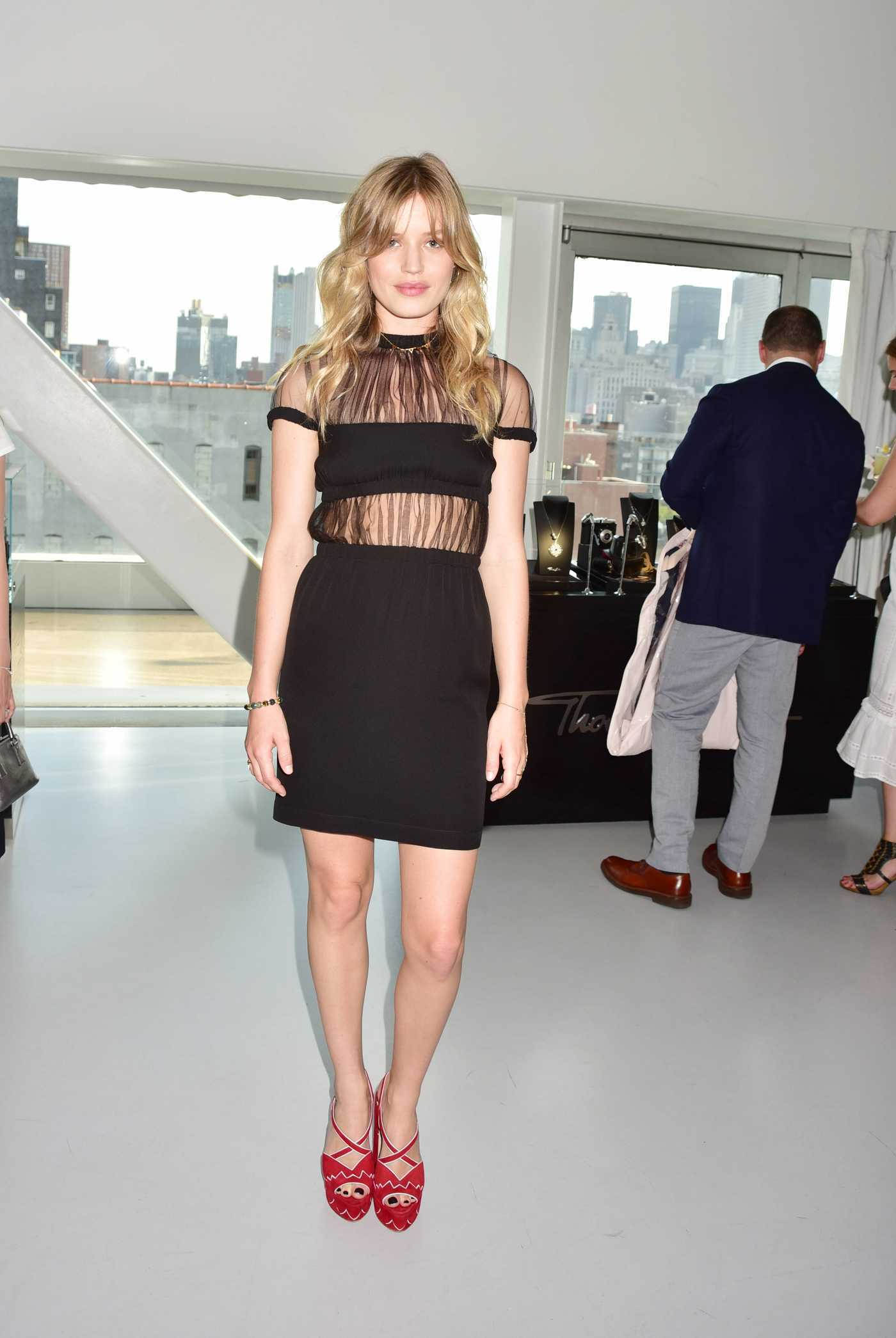 Georgia May Jagger at the Thomas Sabo New Collection Celebration in NYC 07/21/2016