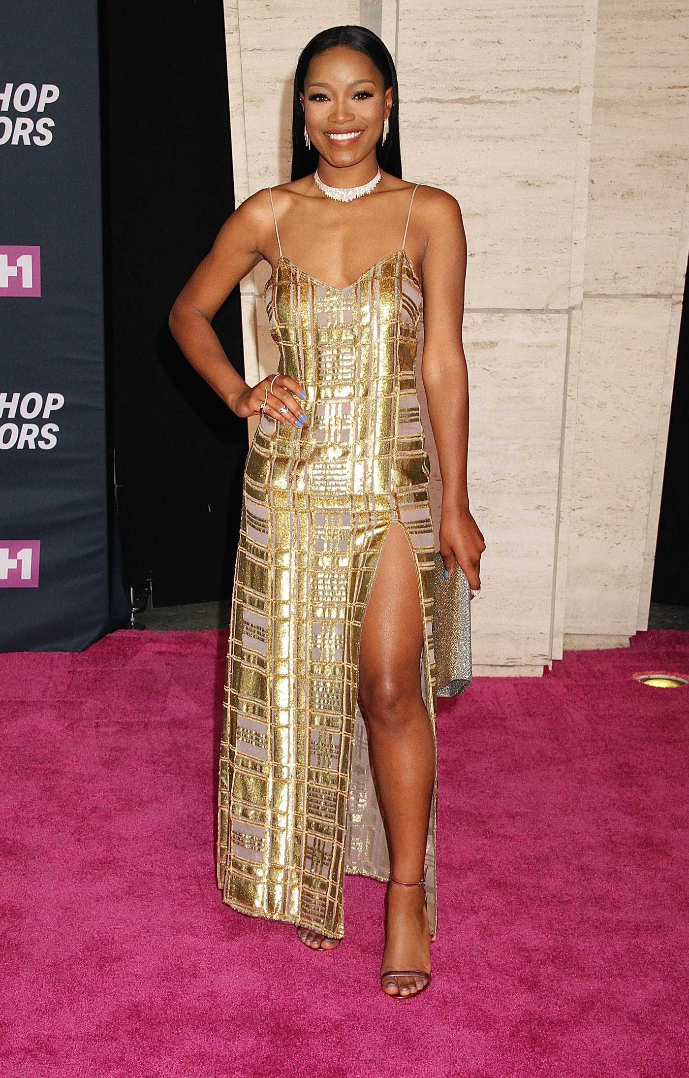 Keke Palmer at the VH1 Hip Hop Honors in New York City 07/11/2016
