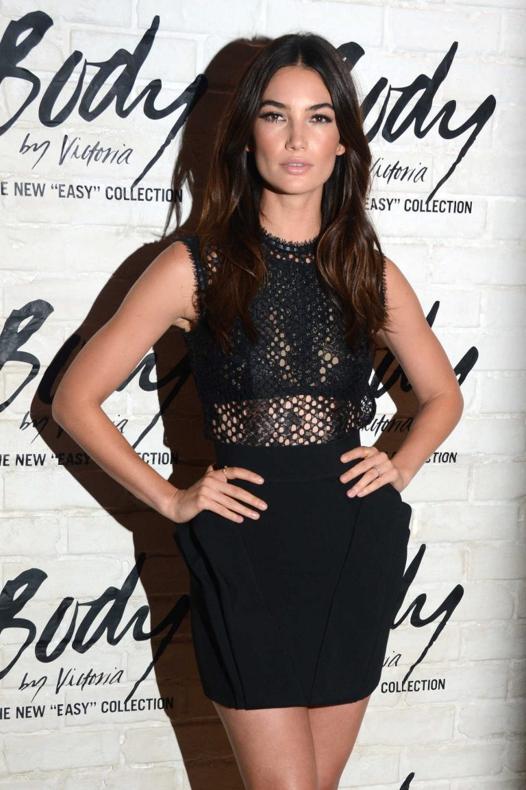 Lily Aldridge Launches Easy Collection From Body by Victoria's Secret in SoHo 07/26/2016-1