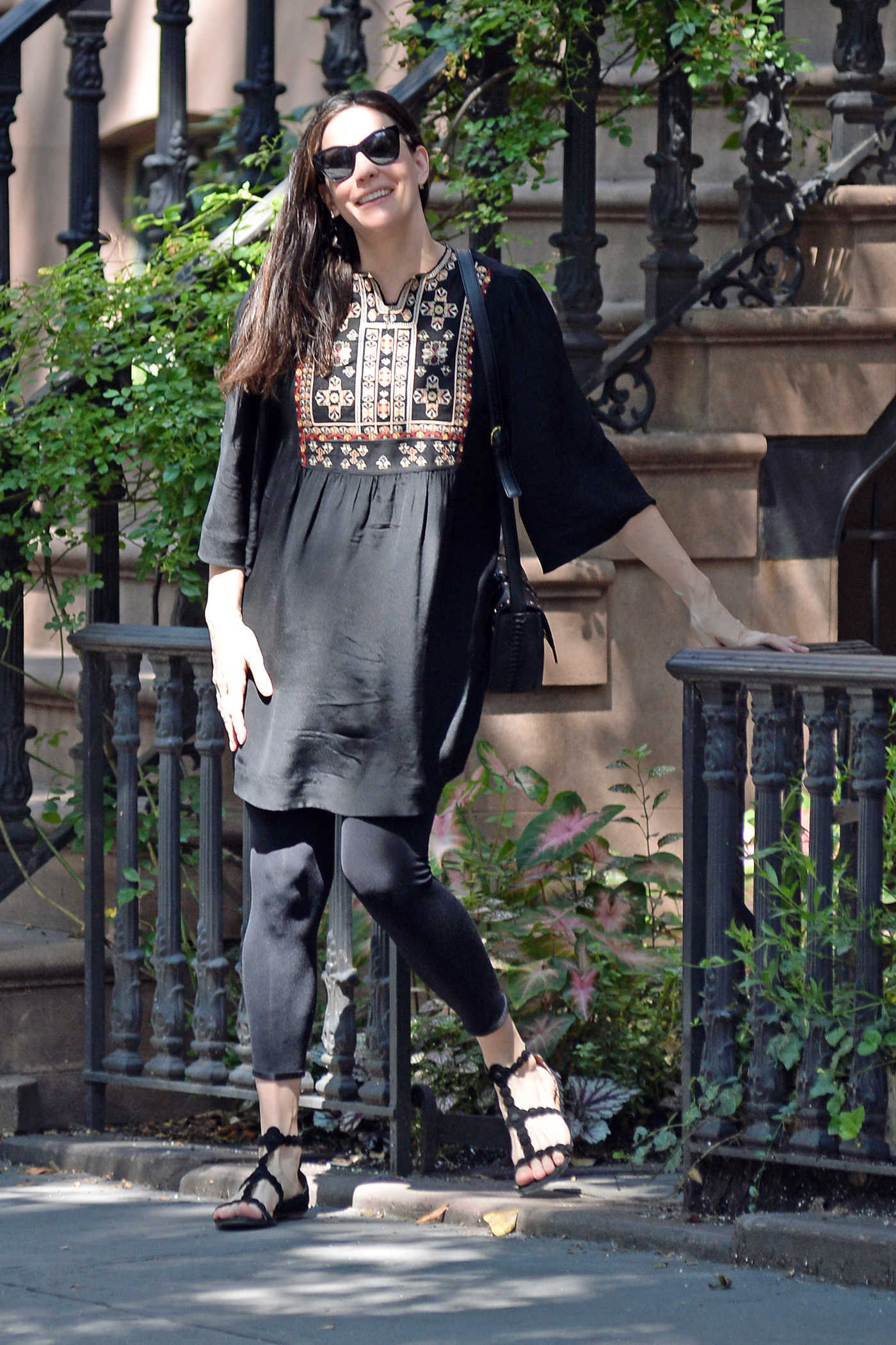 Liv Tyler Leaves Her Apartment in New York City 07/27/2016
