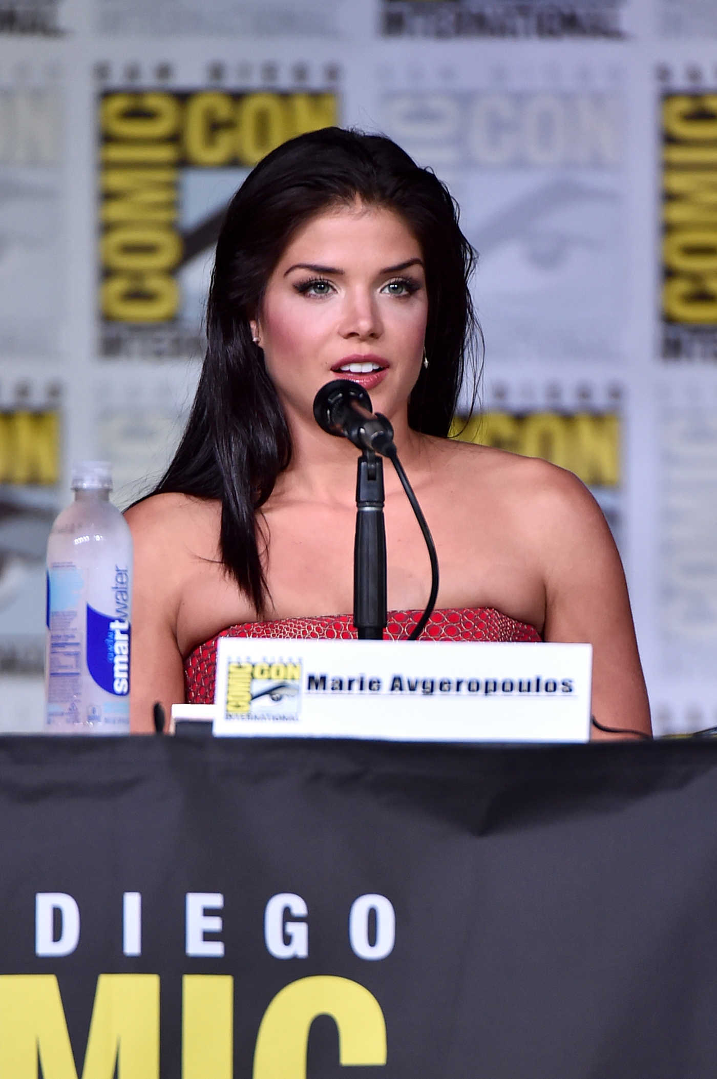 Marie Avgeropoulos at The 100 Panel at Comic-Con International in San Diego 07/22/2016