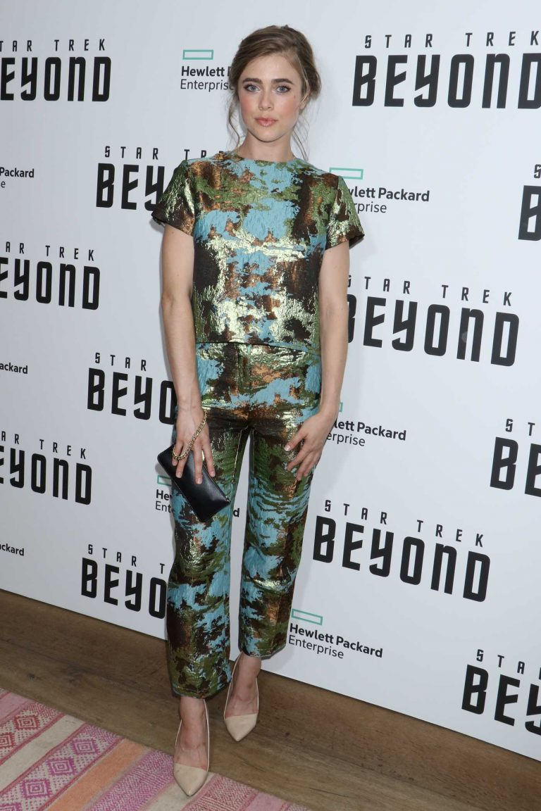 Melissa Roxburgh at the Star Trek: Beyond Screening in New York City 07/18/2016-1