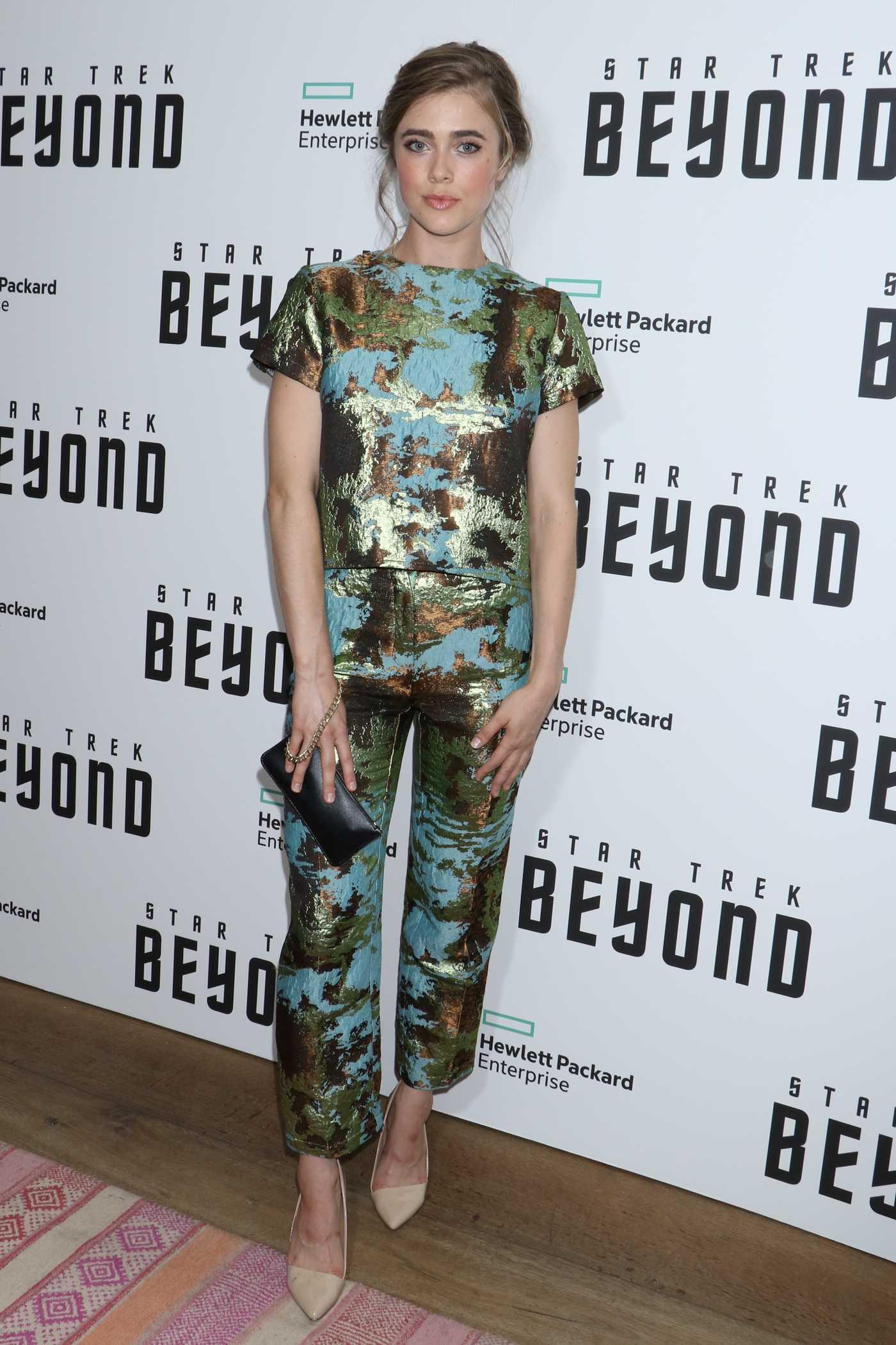 Melissa Roxburgh at the Star Trek: Beyond Screening in New York City 07/18/2016