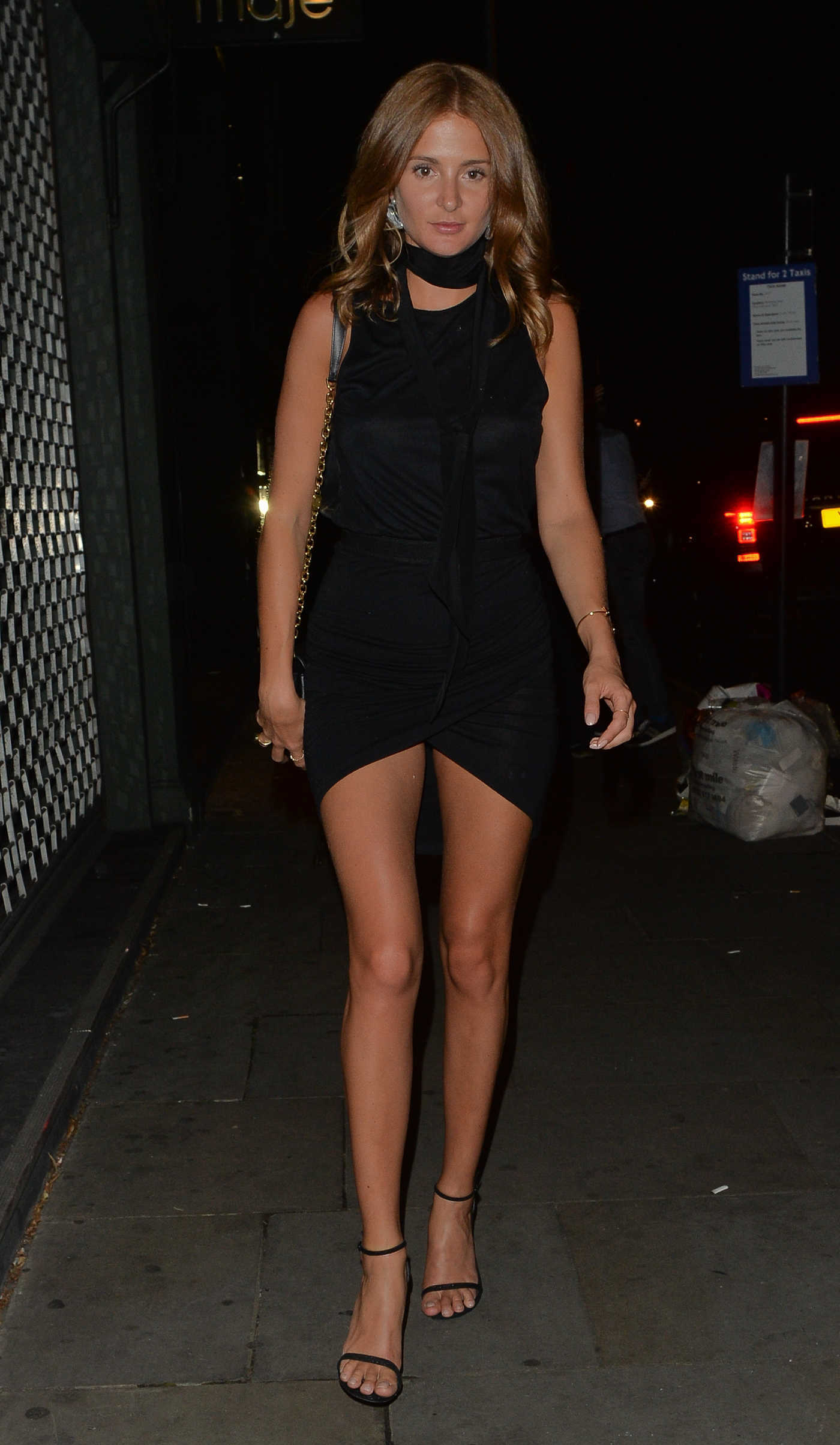 Millie Mackintosh Was Seen at a Restaurant Ours in London 07/22/2016