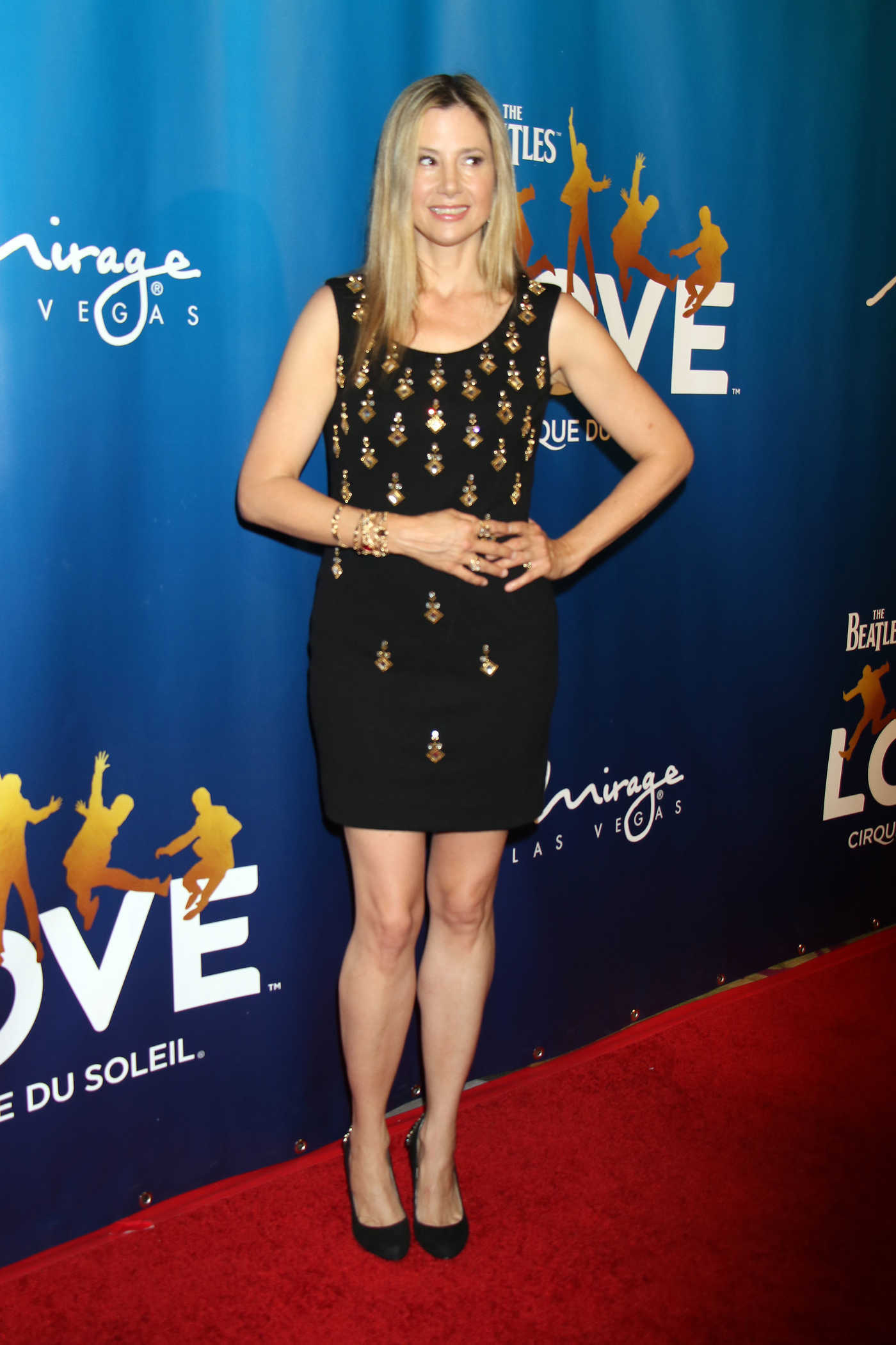 Mira Sorvino at 10th Anniversary Celebration of The Beatles Love in Las Vegas 07/14/2016