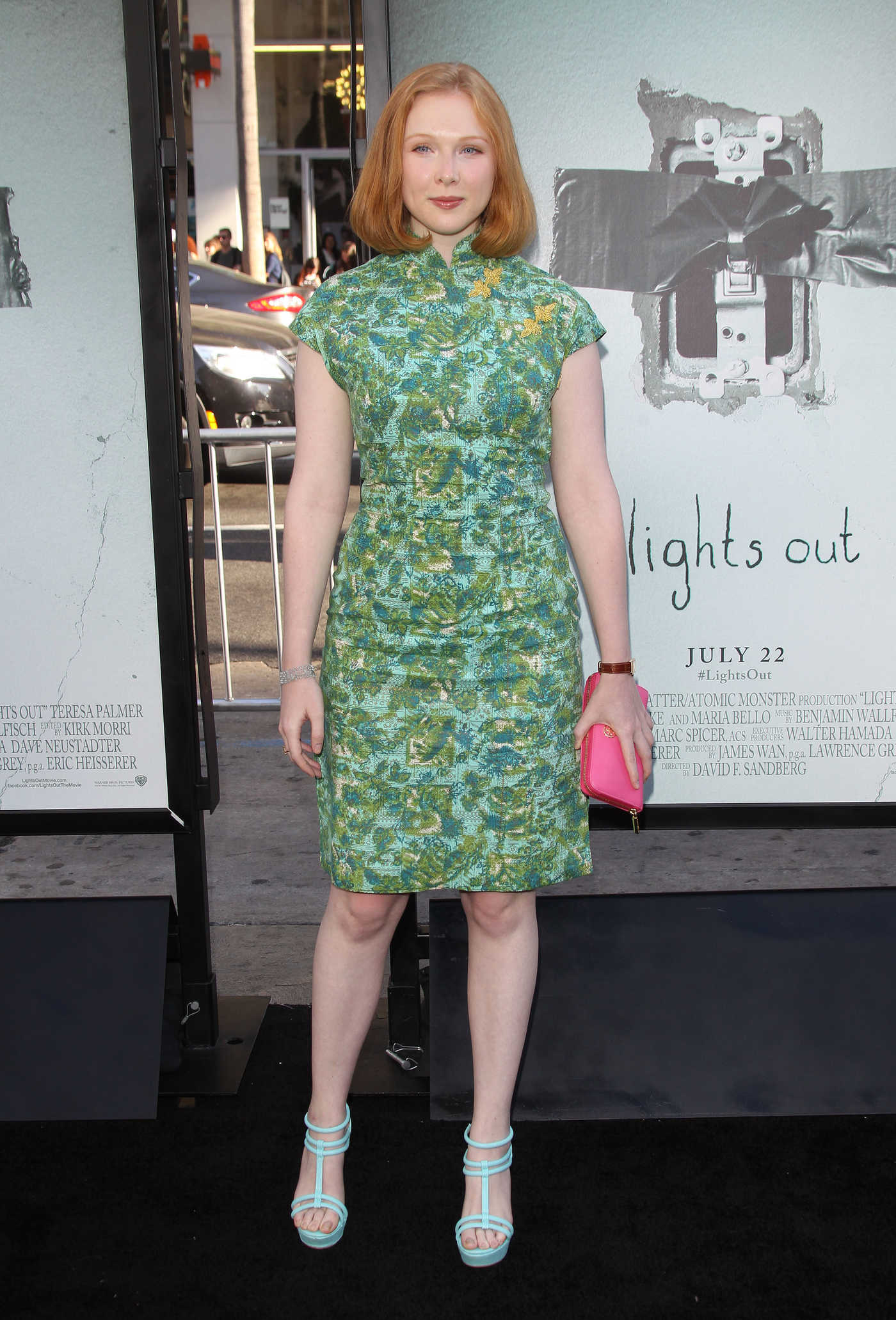 Molly Quinn at the Lights Out Premiere in Los Angeles 07/19/2016
