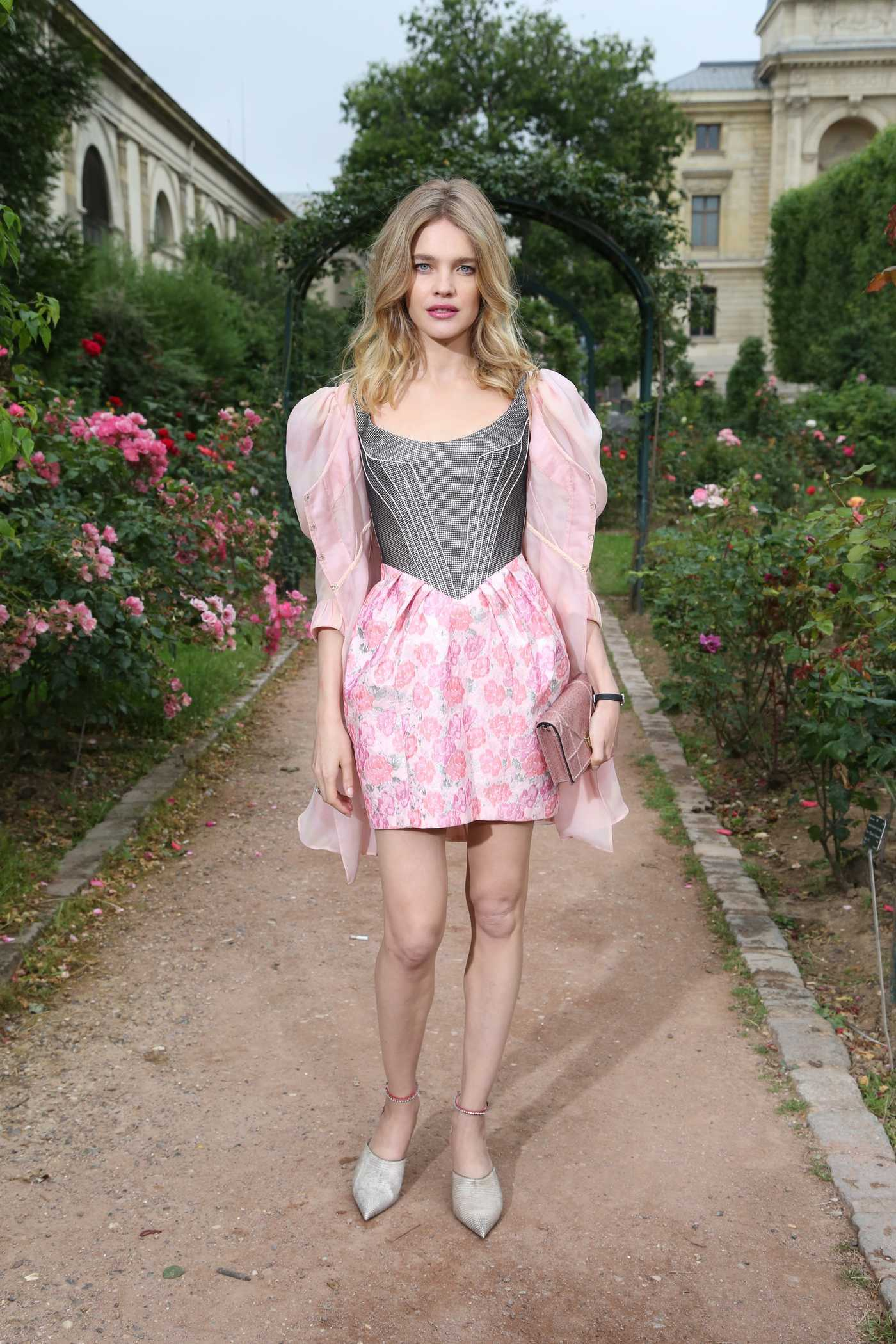 Natalia Vodianova at Ulyana Sergeenko Haute Couture Fall Show in Paris 07/03/2016