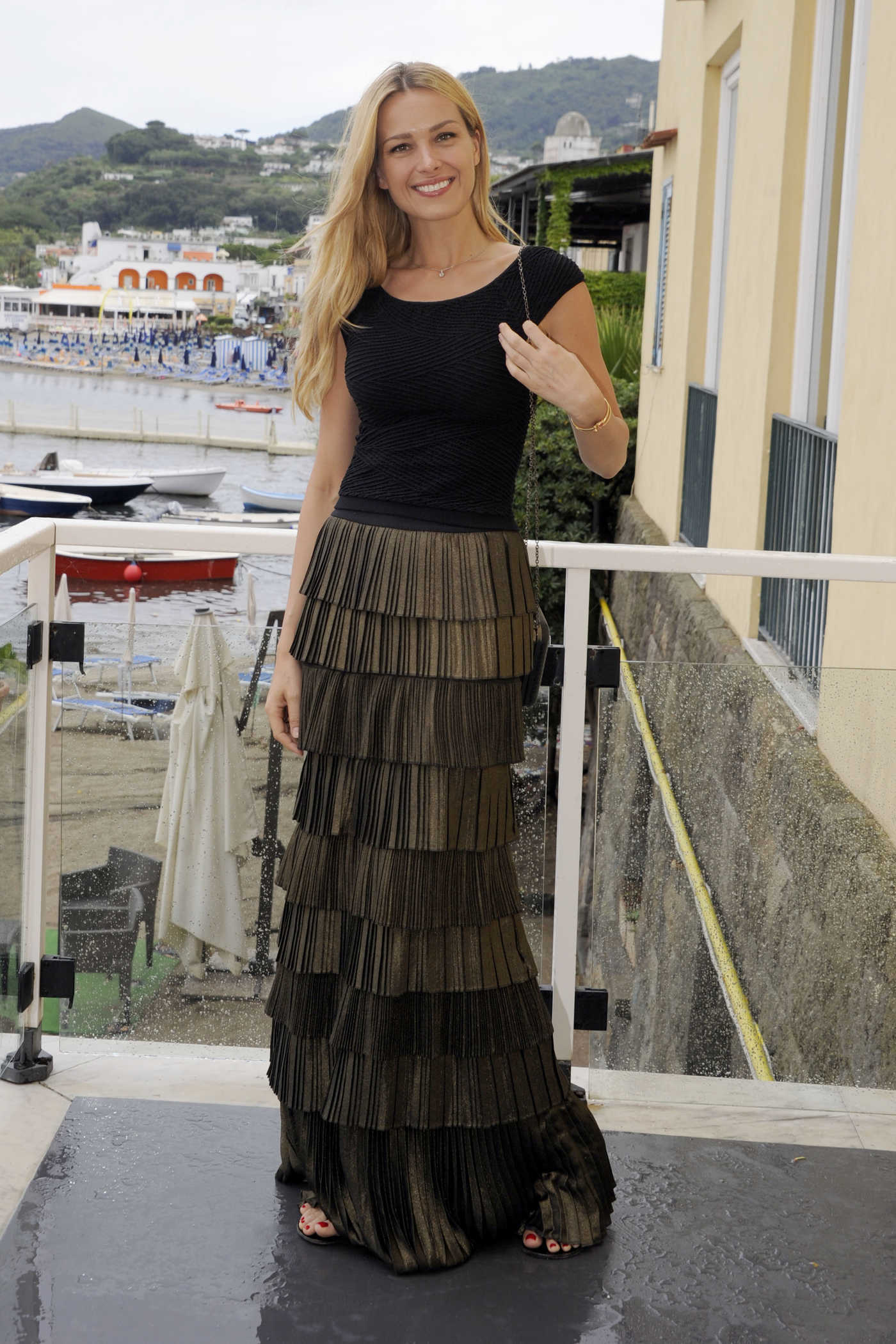 Petra Nemcova at 2016 Ischia Global Film and Music Fest in Italy 07/15/2016