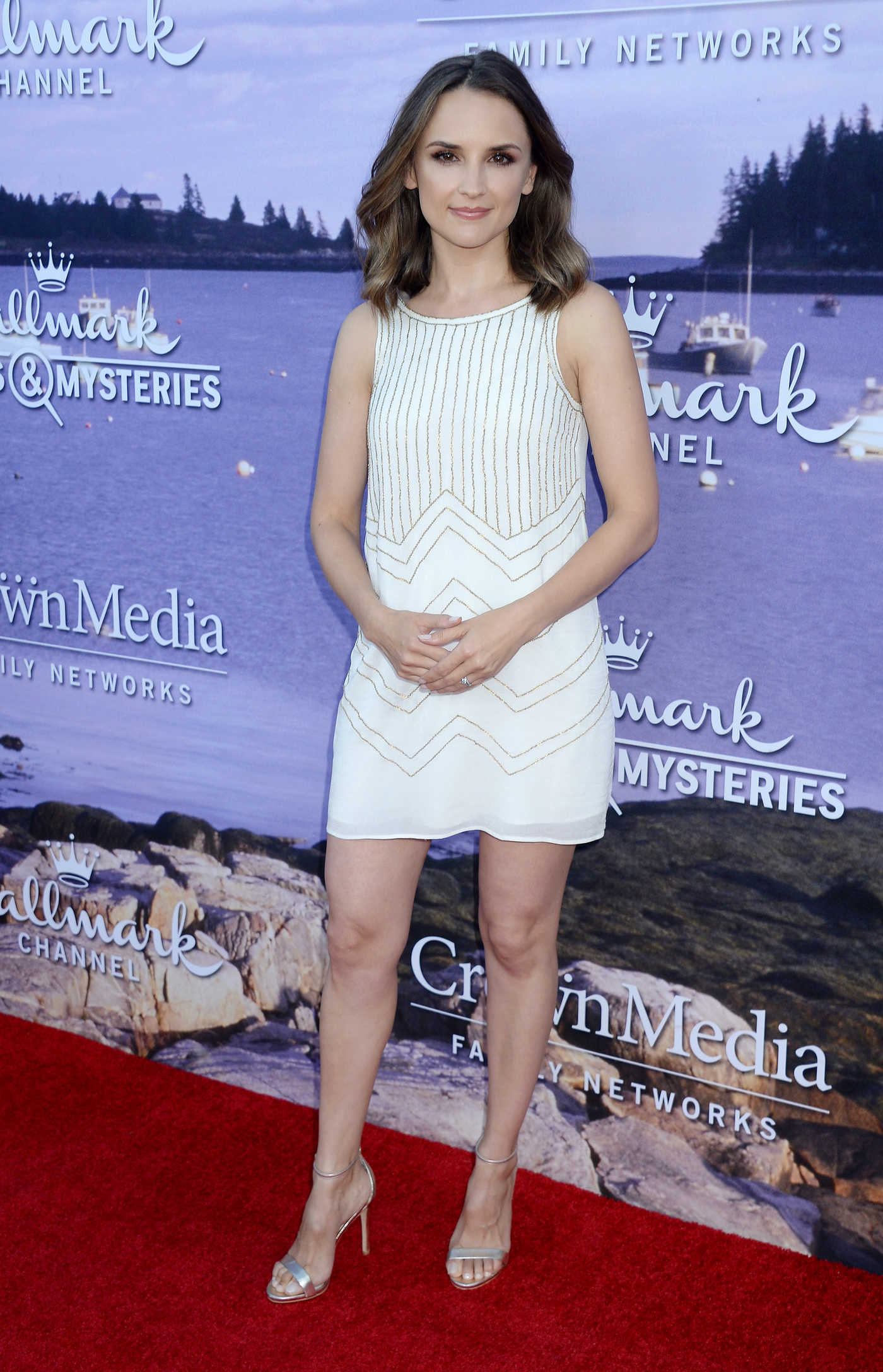 Rachael Leigh Cook at the Hallmark Movies and Mysteries Party in Los Angeles 07/27/2016