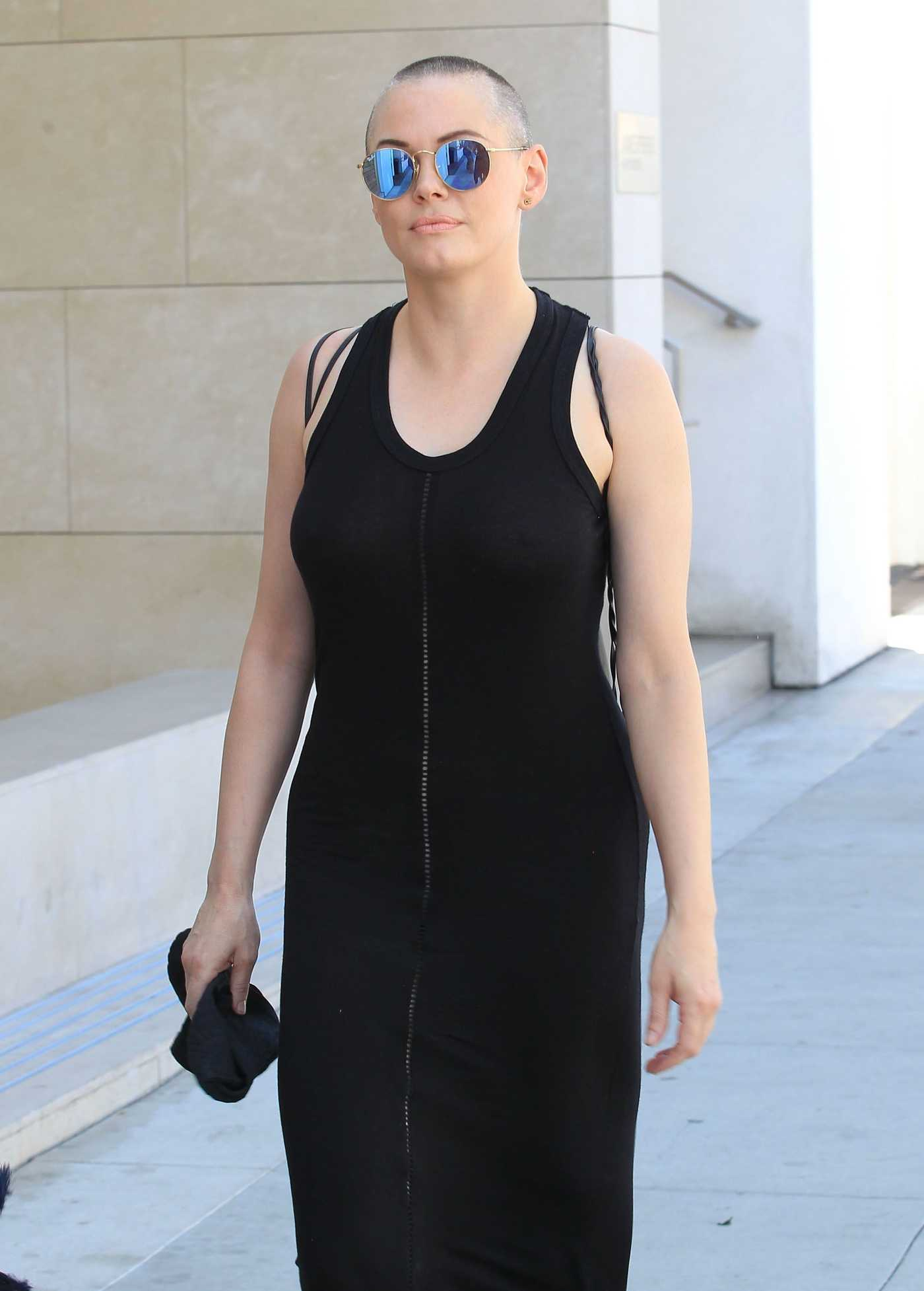 Rose McGowan Was Seen Out in Beverly Hills 07/19/2016