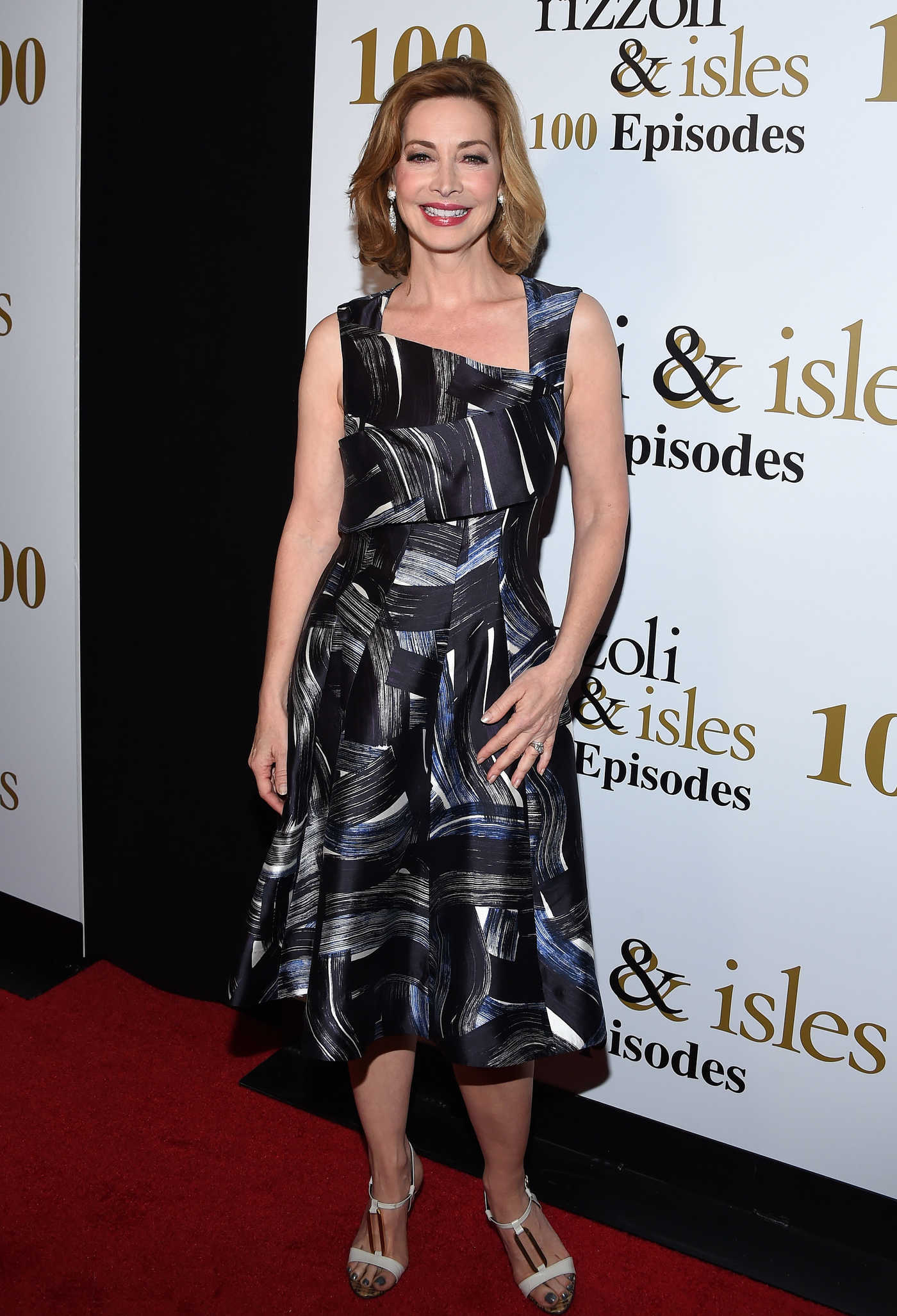 Sharon Lawrence at the Rizzoli and Isles 100th Episode Celebration in Los Angeles 07/09/2016