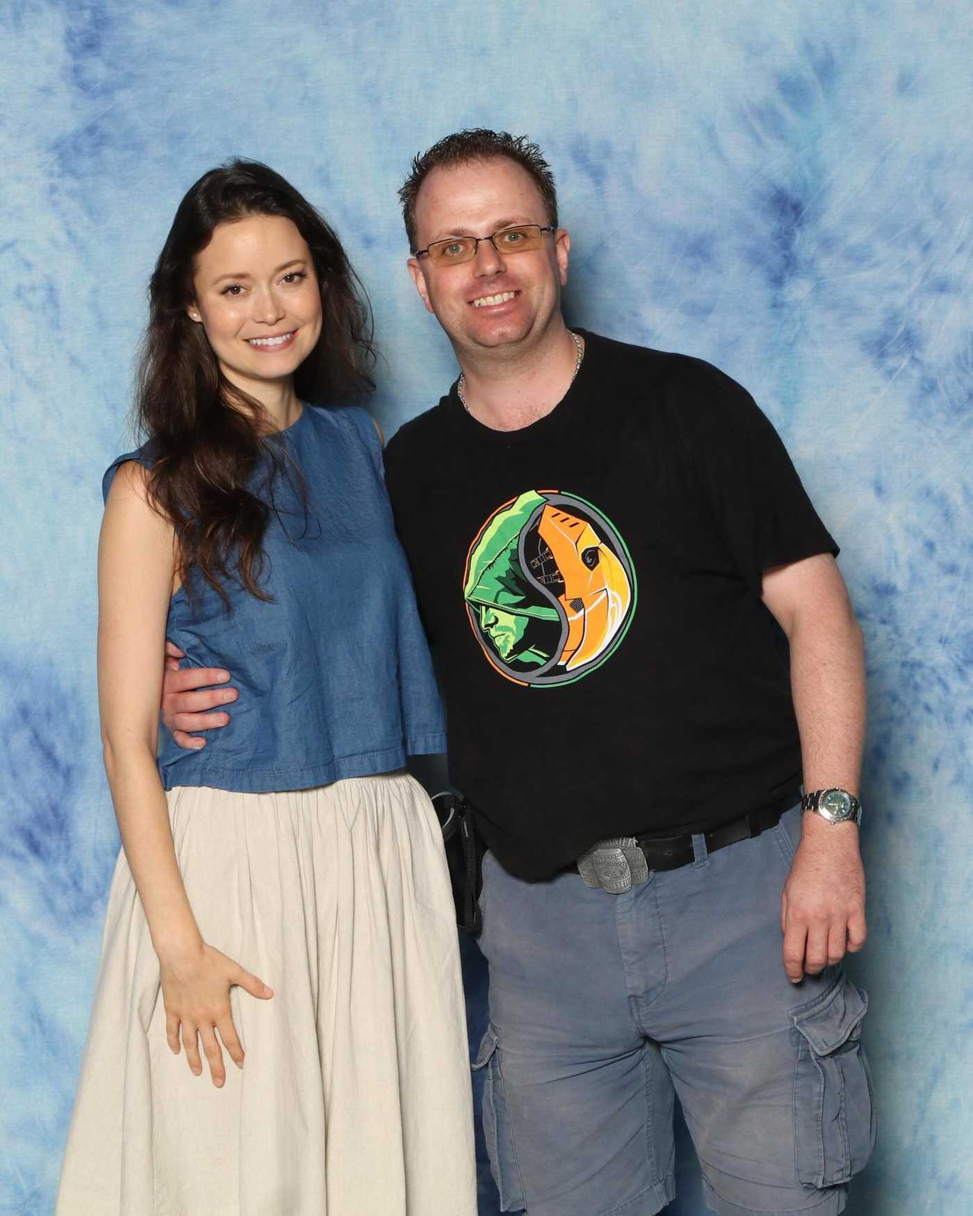 Summer Glau at the Montreal Film and Comic-Con 07/09/2016