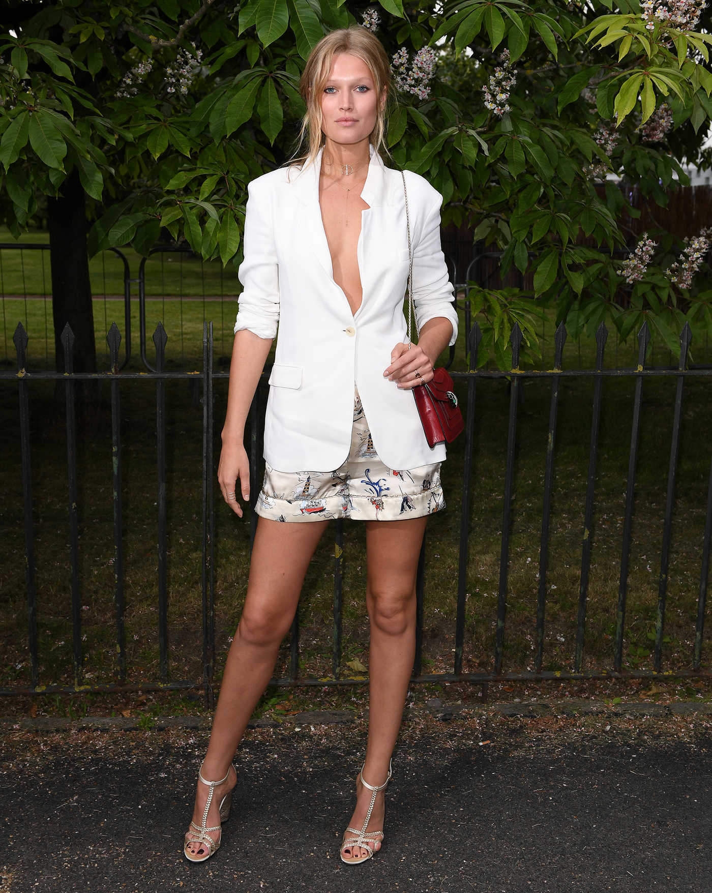 Toni Garrn at the Serpentine Summer Party in London 07/07/2016