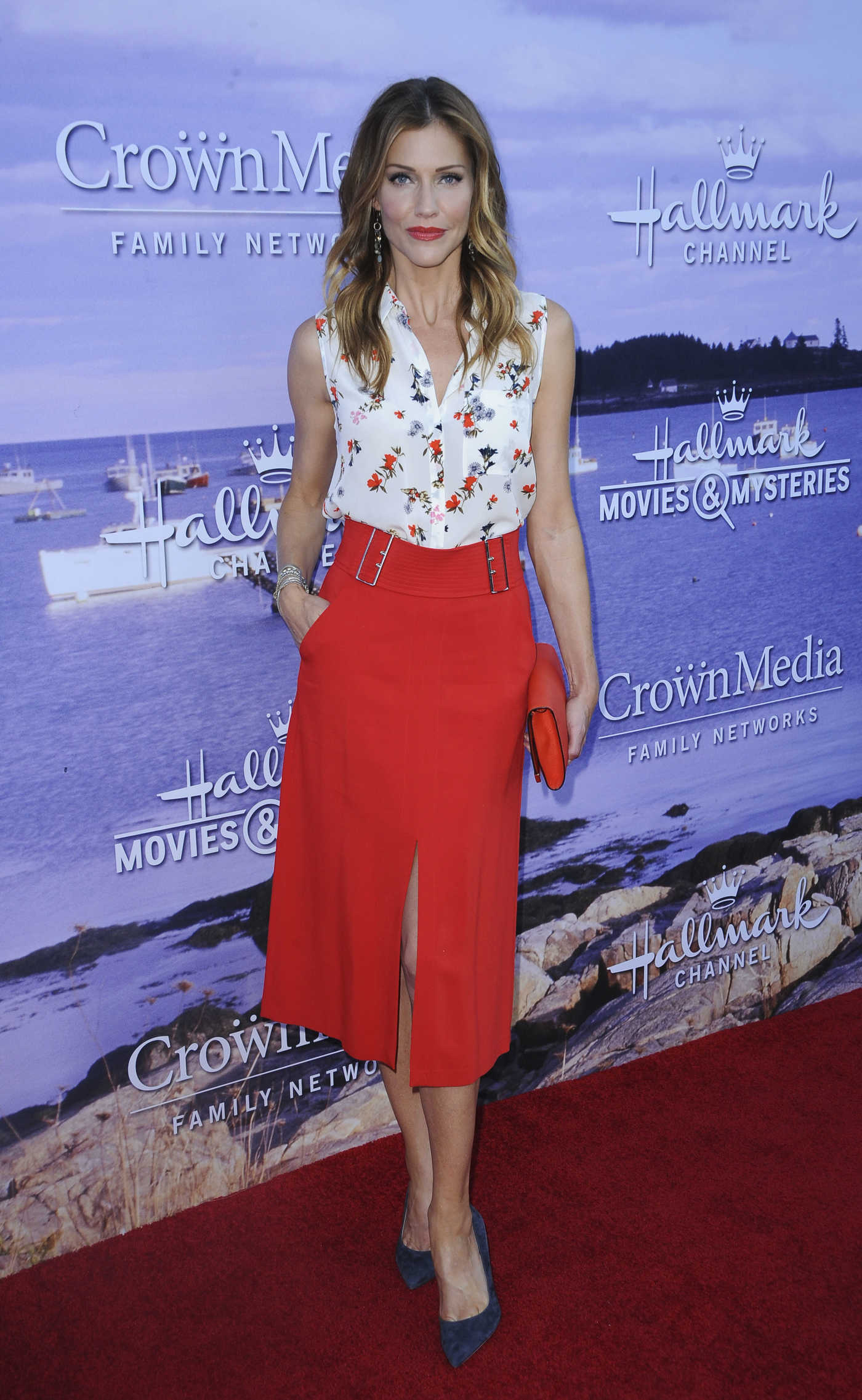 Tricia Helfer at the Hallmark Movies and Mysteries Party in Los Angeles 07/27/2016