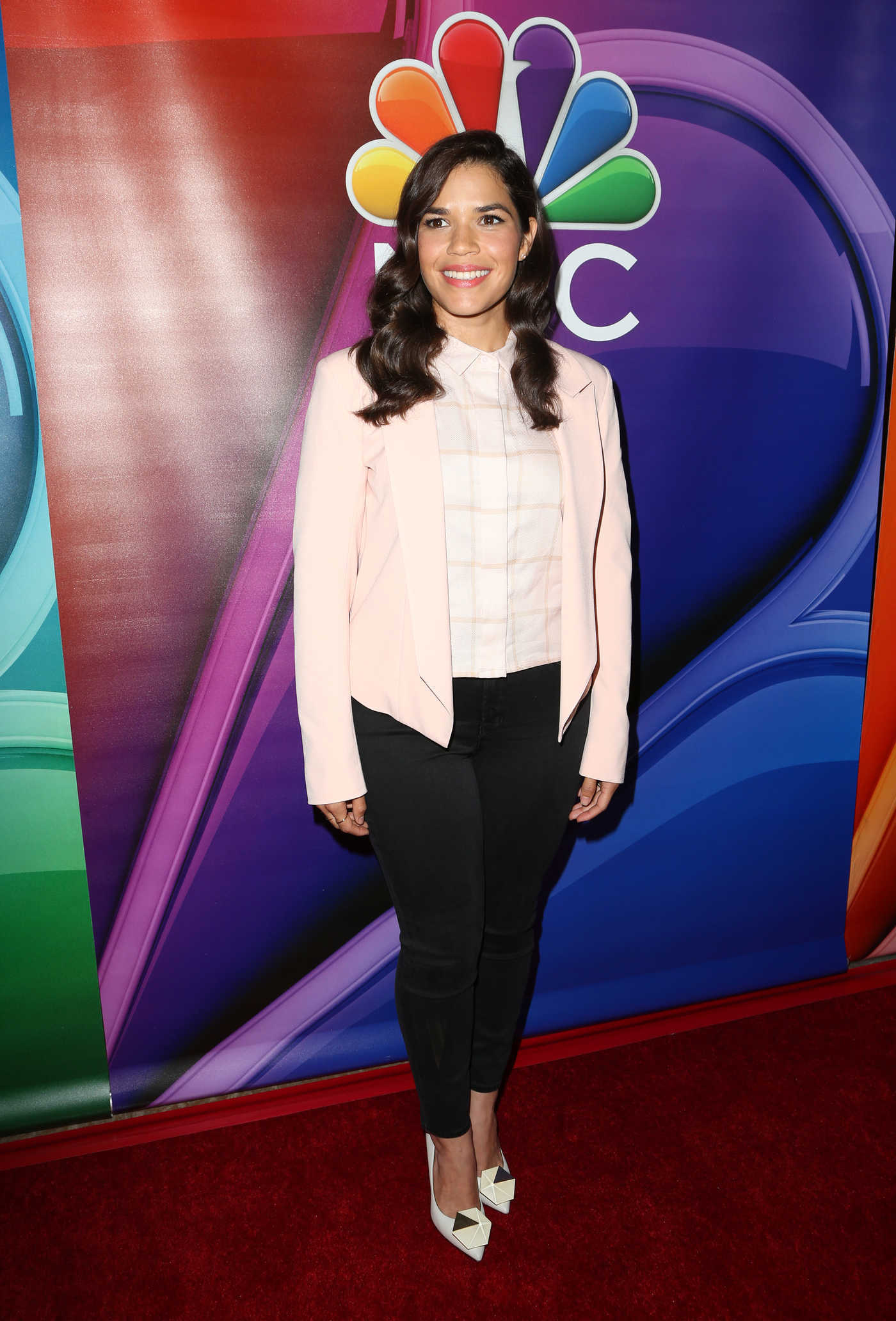 America Ferrera at the NBC Universal Press Tour at Hilton Hotel in Pasadena 08/02/2016