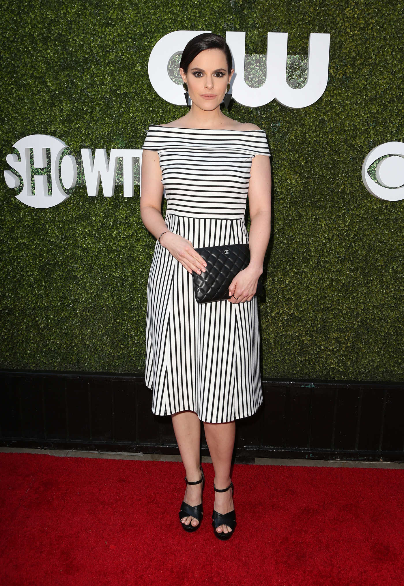 Emily Hampshire at 2016 CBS, CW and Showtime TCA Summer Press Tour Party in Westwood 08/10/2016