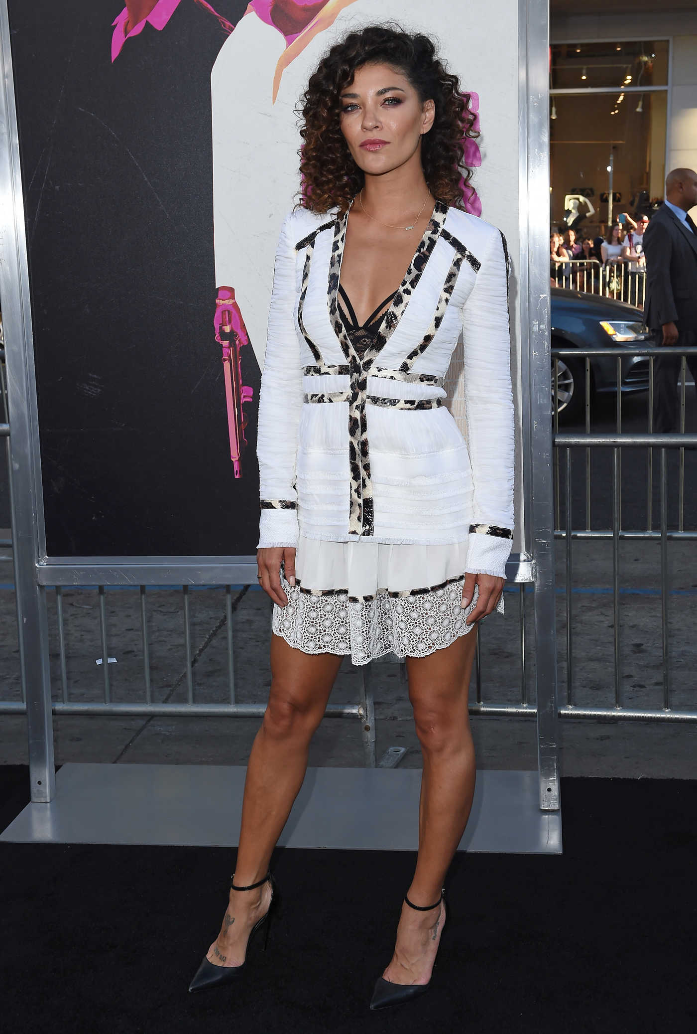 Jessica Szohr at the War Dogs Los Angeles Premiere 08/15/2016