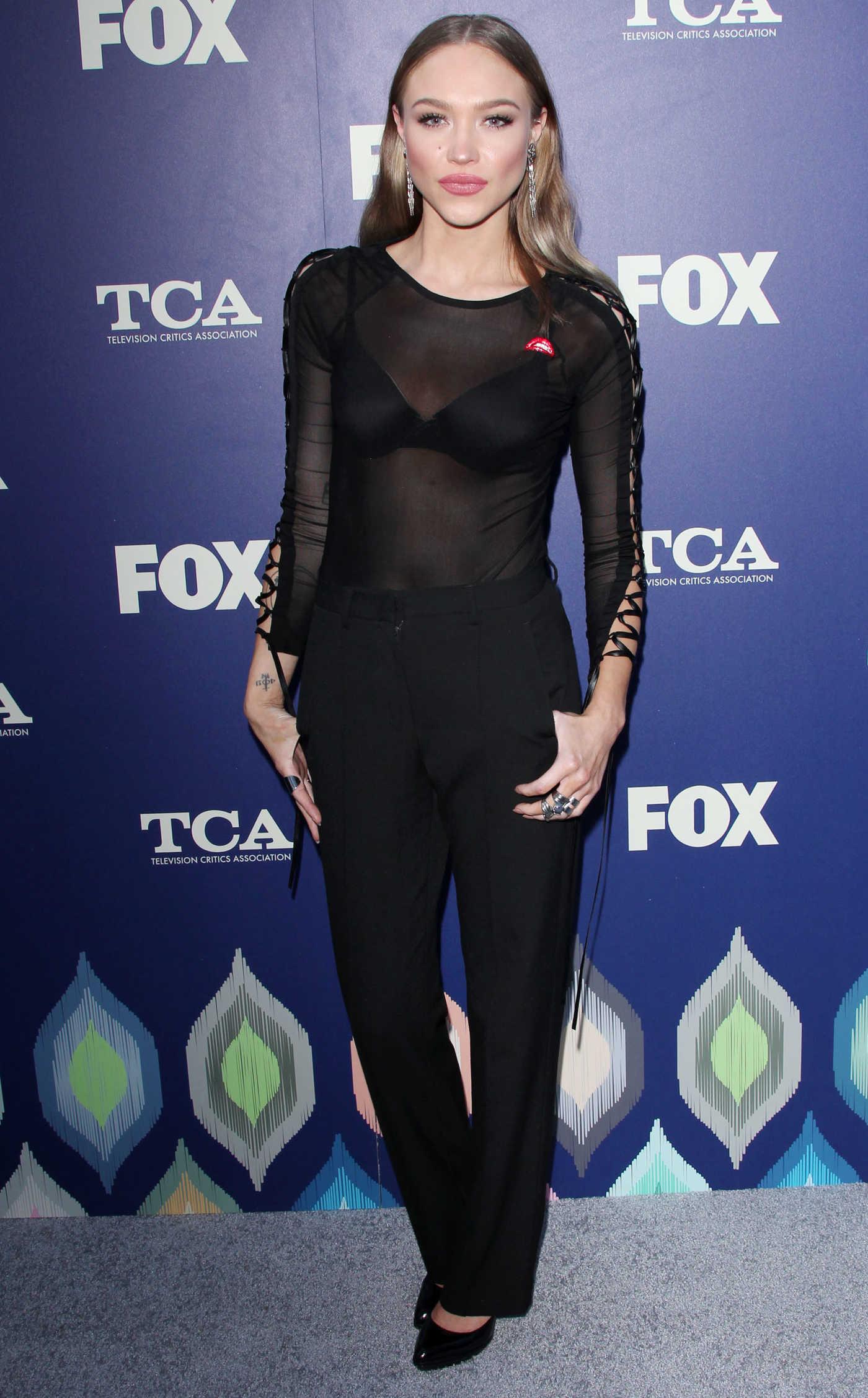Kelly Van Der Burg at 2016 FOX Summer TCA Press Tour Party in Los Angeles 08/08/2016-2