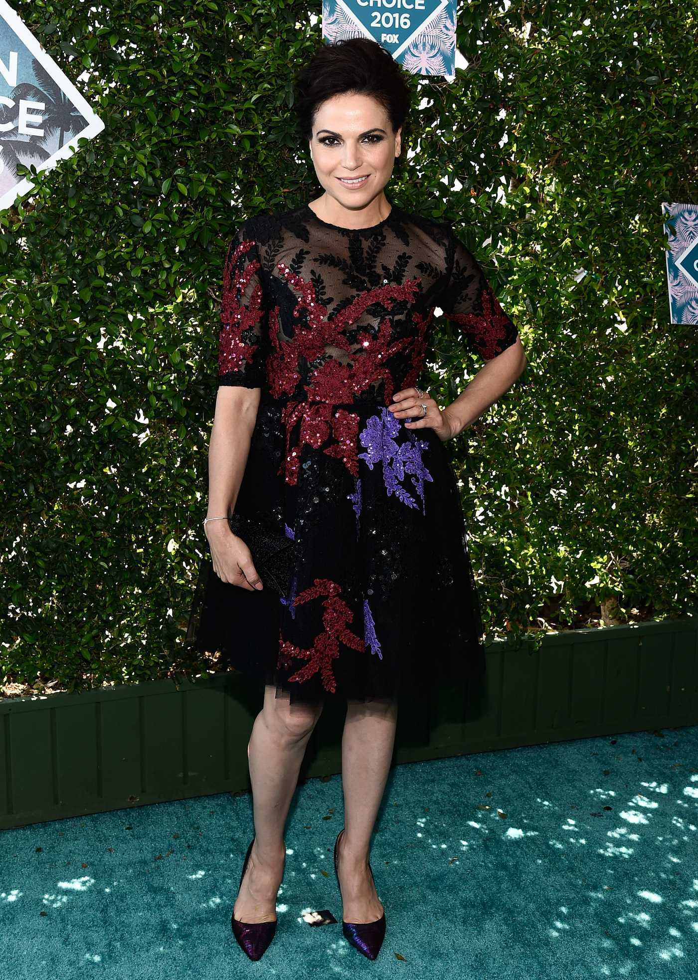 Lana Parrilla at 2016 Teen Choice Awards in Inglewood 07/31/2016