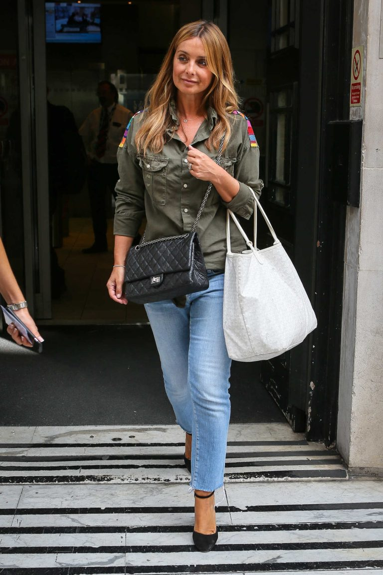Louise Redknapp Leaves BBC Radio Two Studios in London 08/15/2016-1