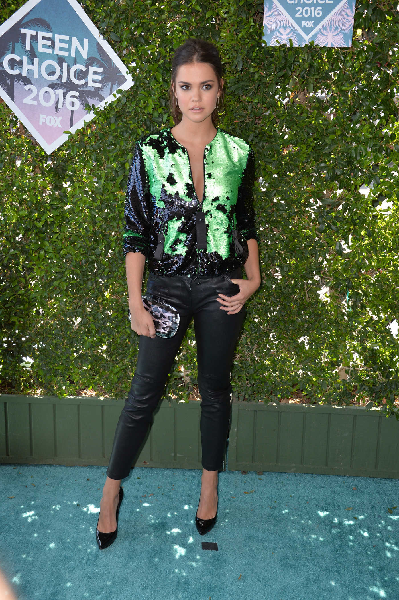 Maia Mitchell at 2016 Teen Choice Awards in Inglewood 07/31/2016