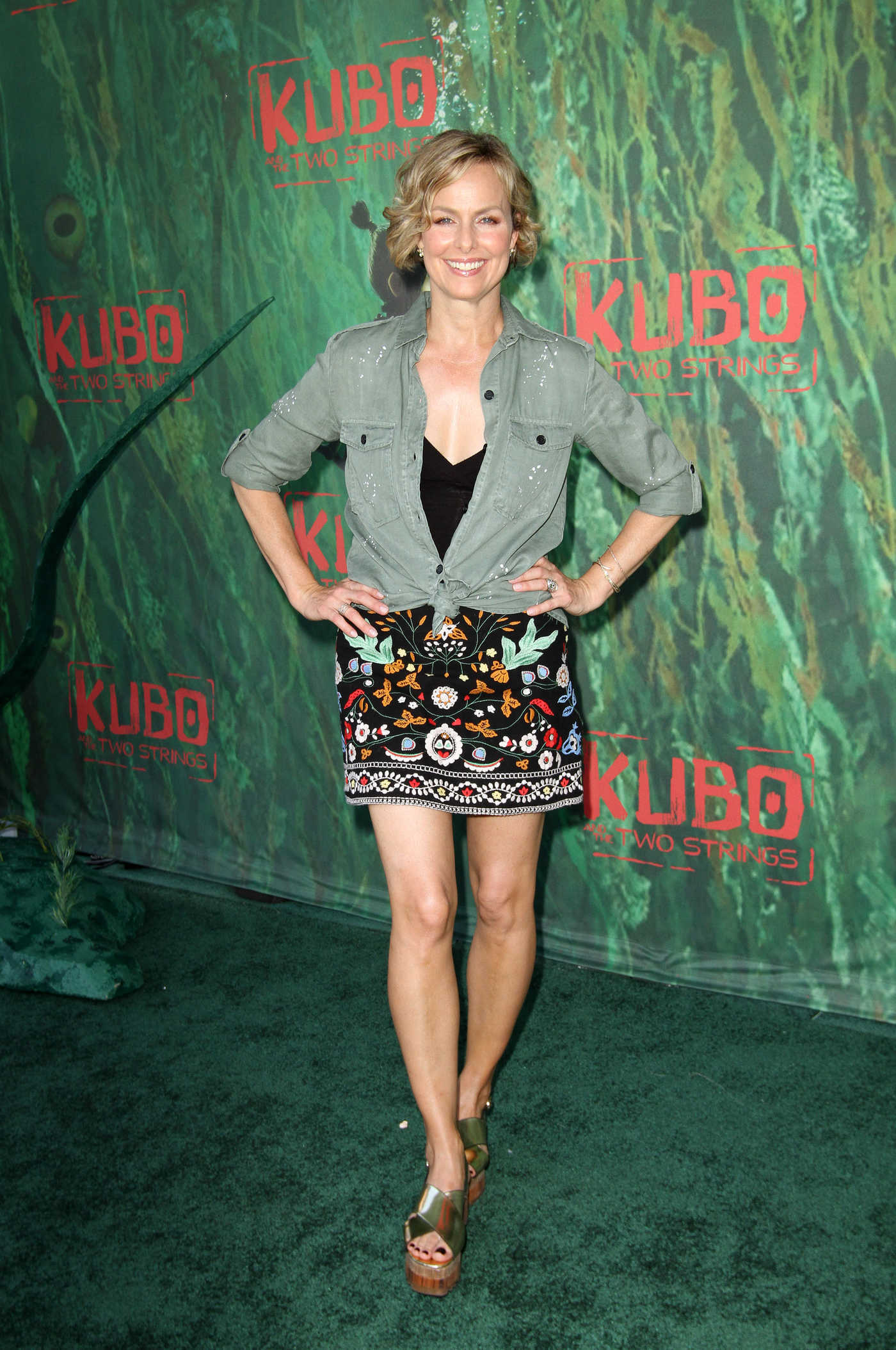 Melora Hardin at the Kubo And The Two Strings Premiere in Los Angeles 08/14/2016
