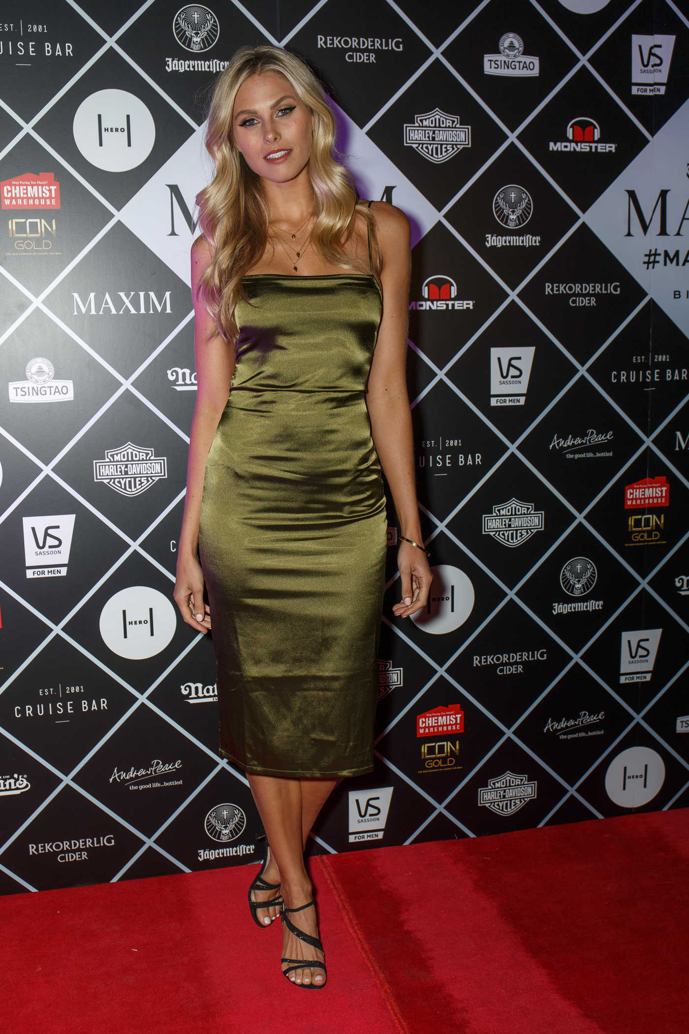 Natalie Roser at Maxim Magazine Fifth Birthday Party at Cruise Bar in Sydney 08/12/2016