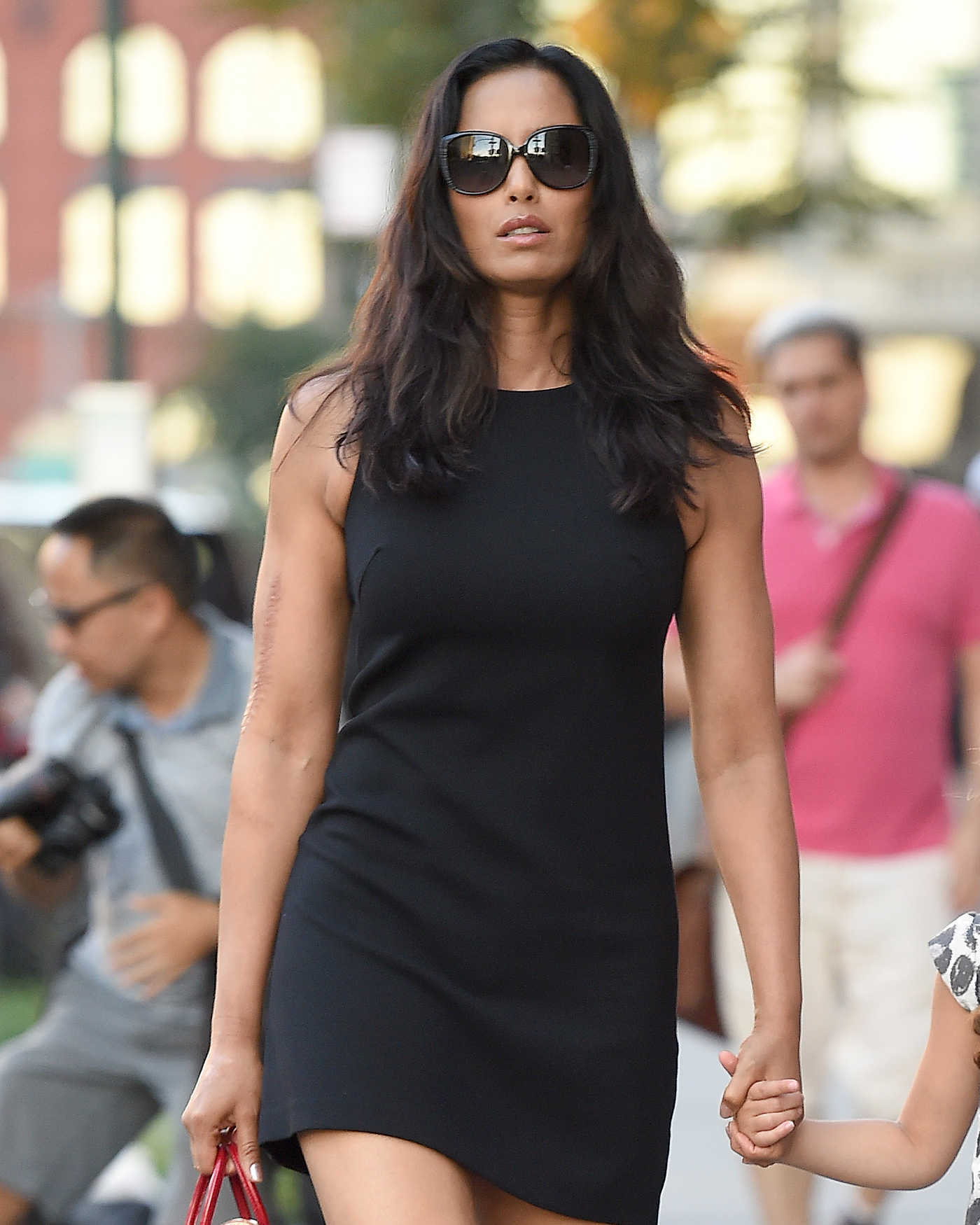 Padma Lakshmi Was Seen Out in New York City 08/27/2016