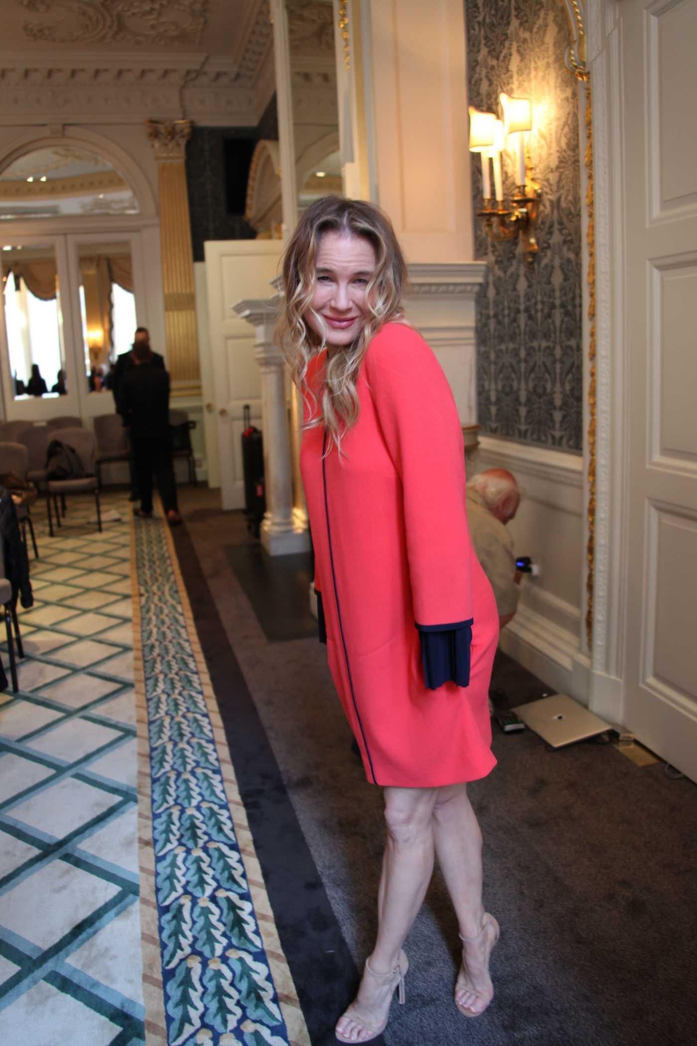 Renee Zellweger at the Bridget Jones Baby Press Conference at the Claridge Hotel in London 08/30/2016