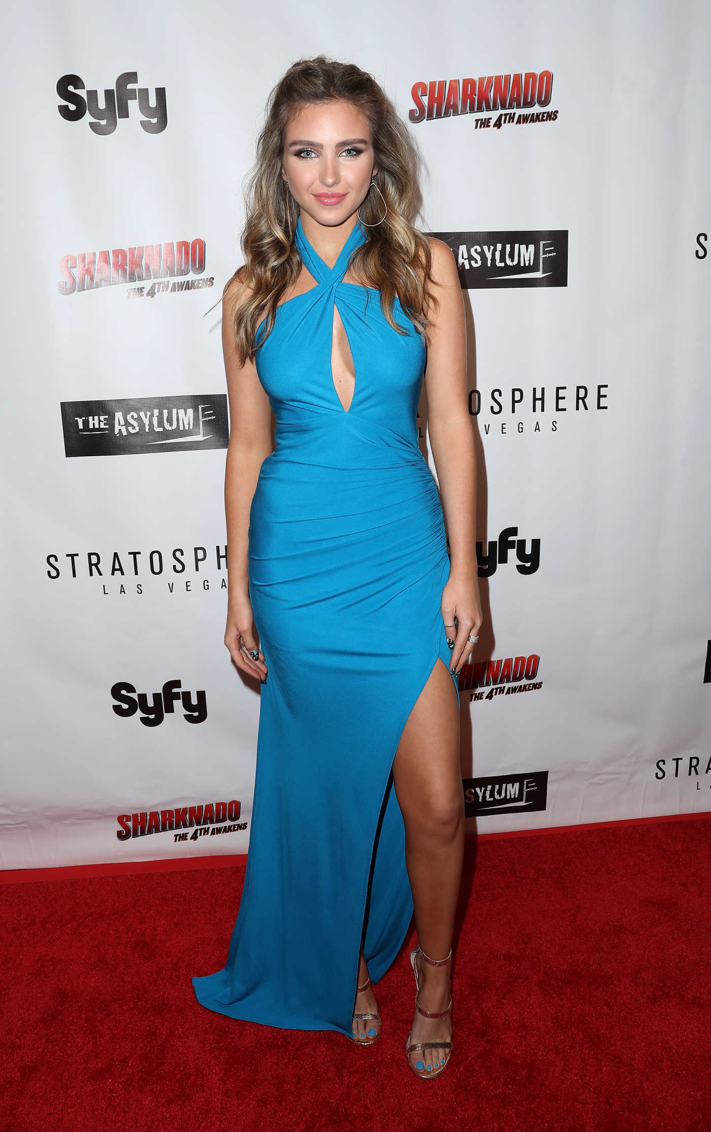 Ryan Newman at the Sharknado: The 4th Awakens Premiere in Las Vegas 07/31/2016