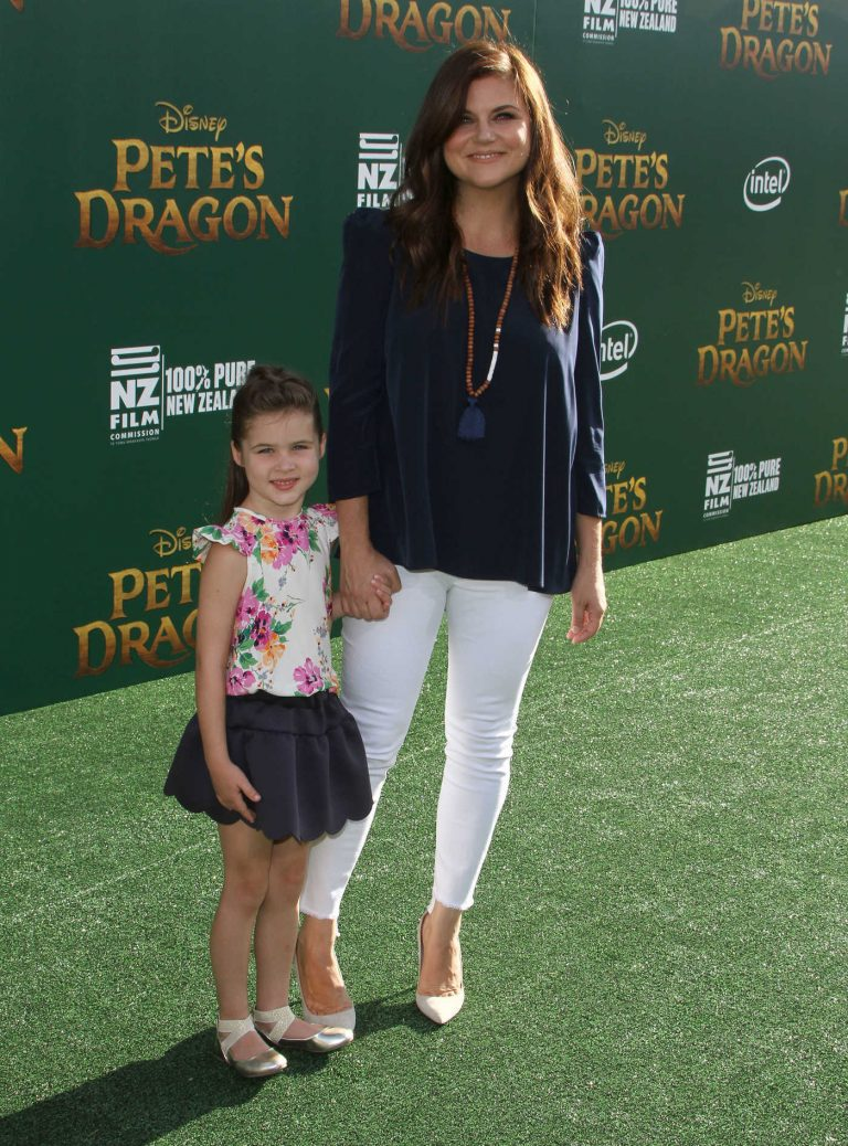Tiffani Thiessen at the Pete's Dragon Premiere in Los Angeles 08/08/2016-1