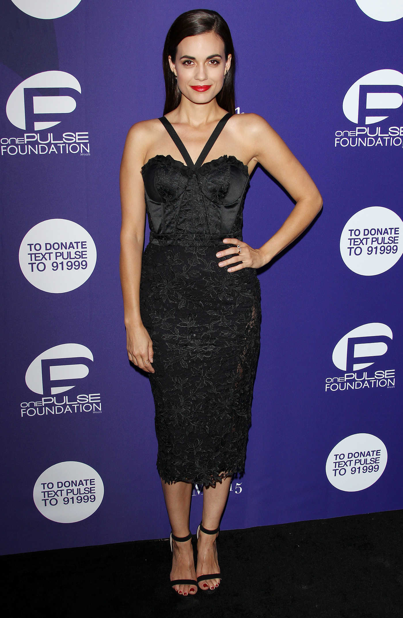 Torrey DeVitto Benefit for OnePulse Foundation in California 08/19/2016