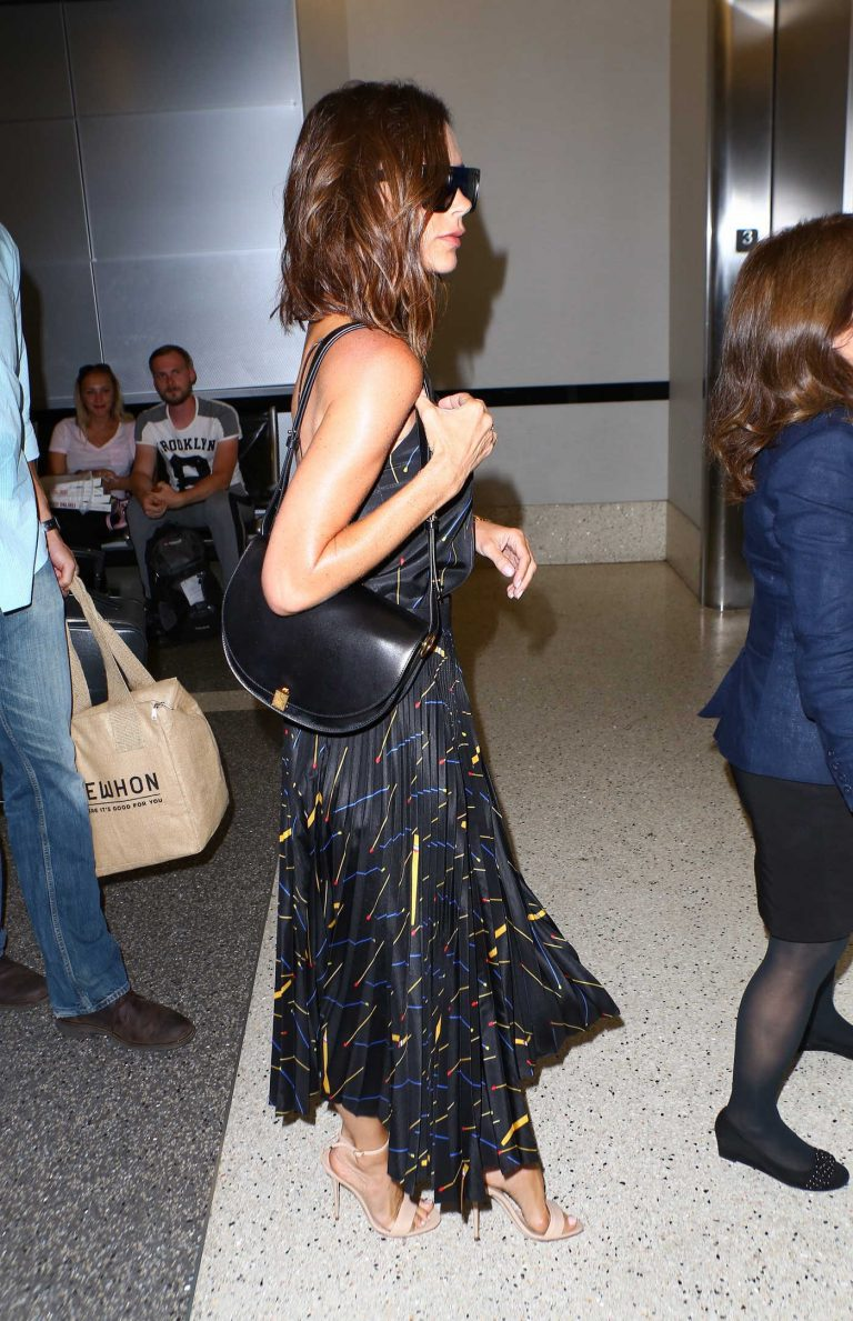 Victoria Beckham Was Seen at LAX Airport in LA 07/31/2016-1