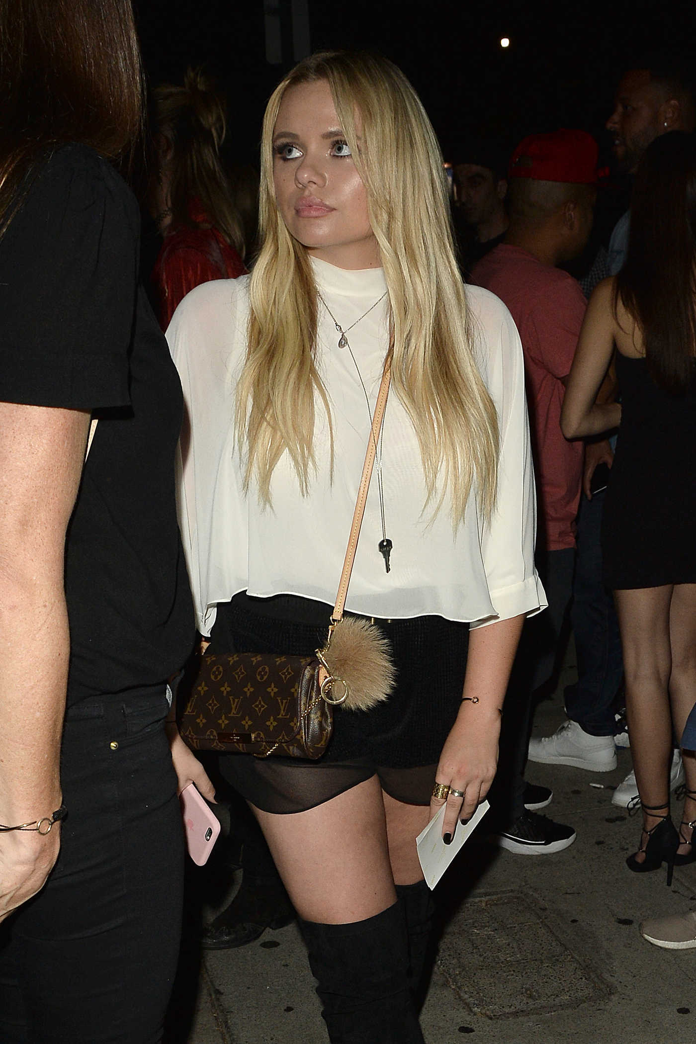 Alli Simpson Leaves a Club in West Hollywood 09/02/2016
