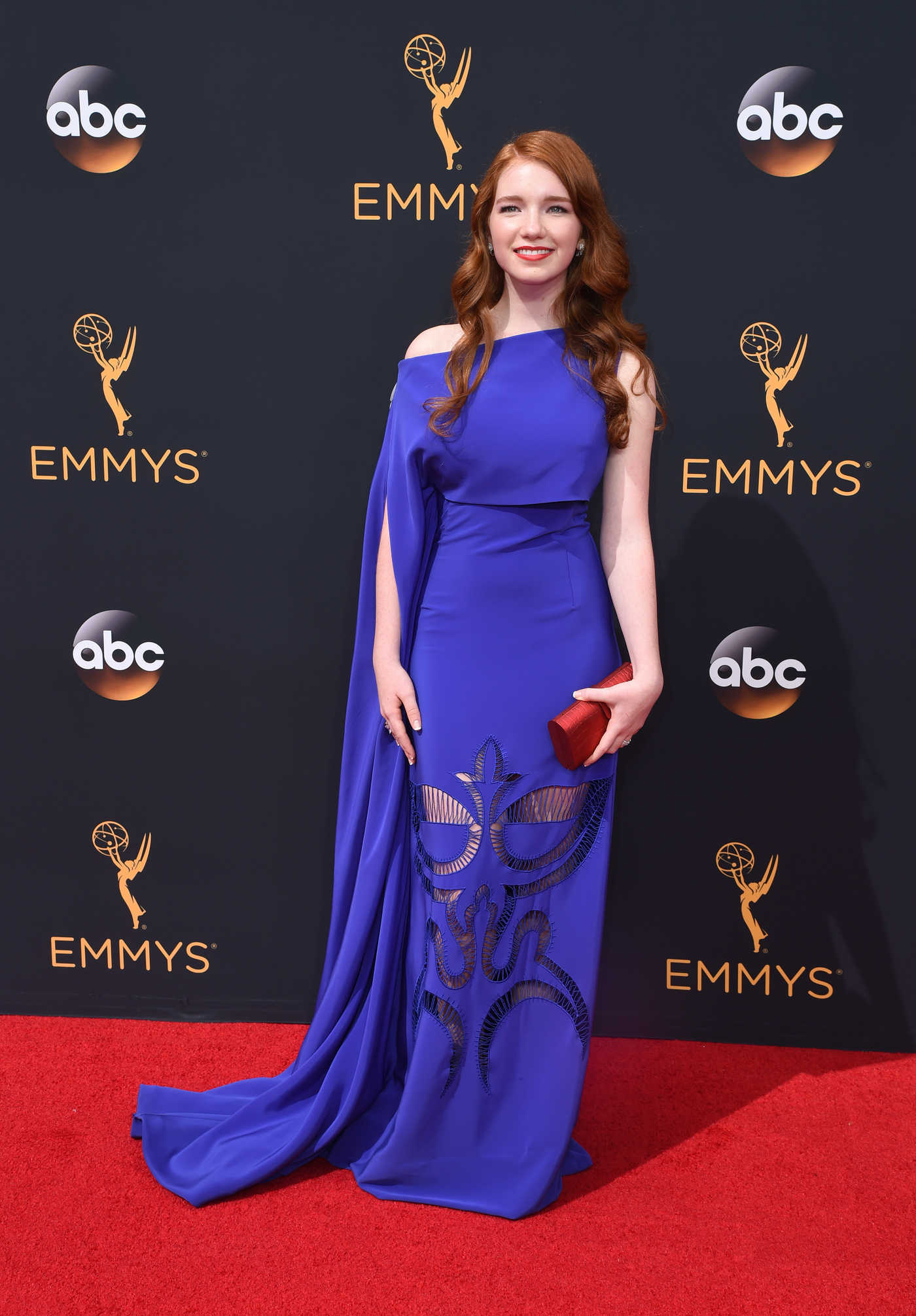Annalise Basso at the 68th Emmy Awards in Los Angeles 09/18/2016